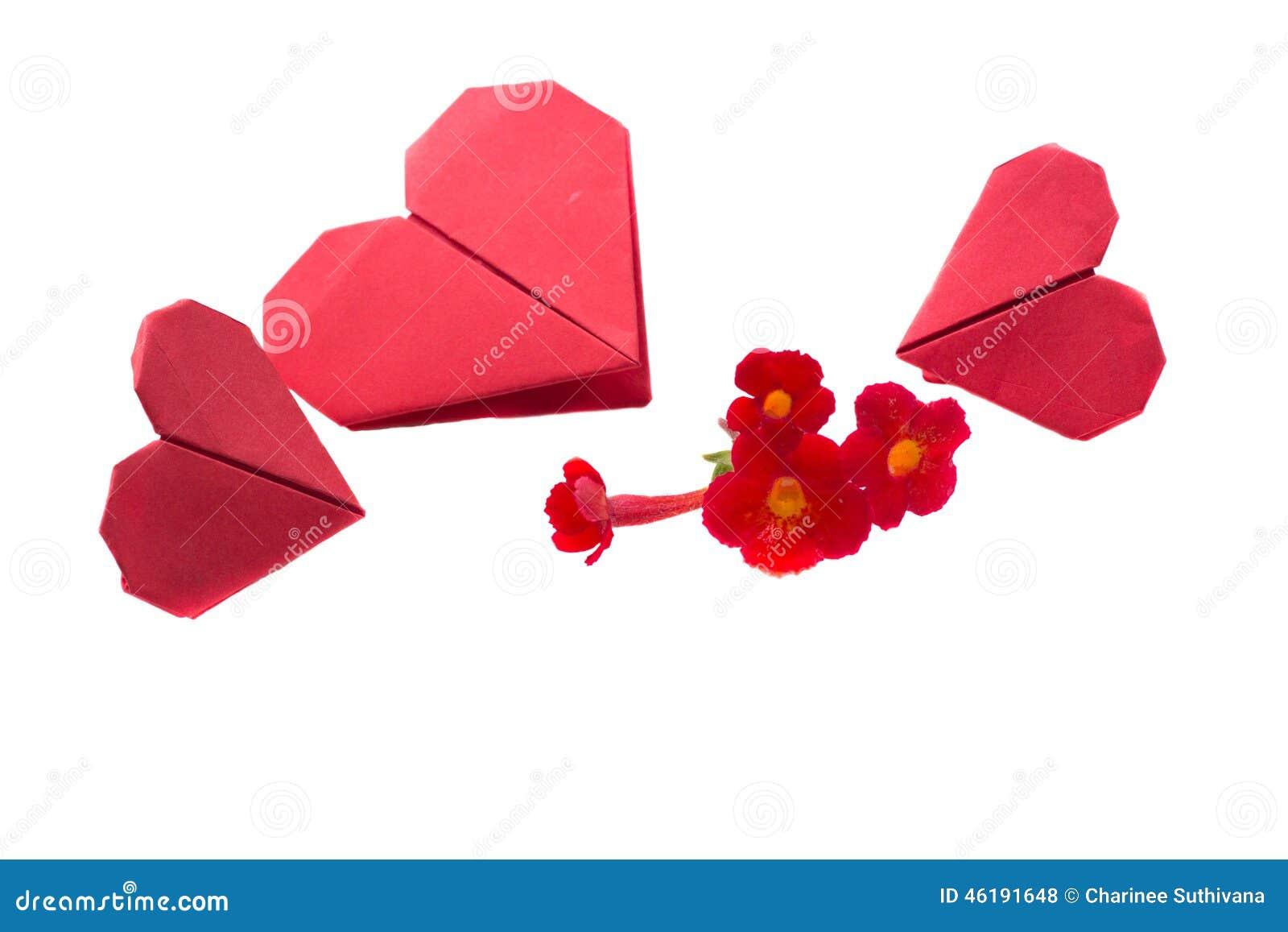 Origami сердца