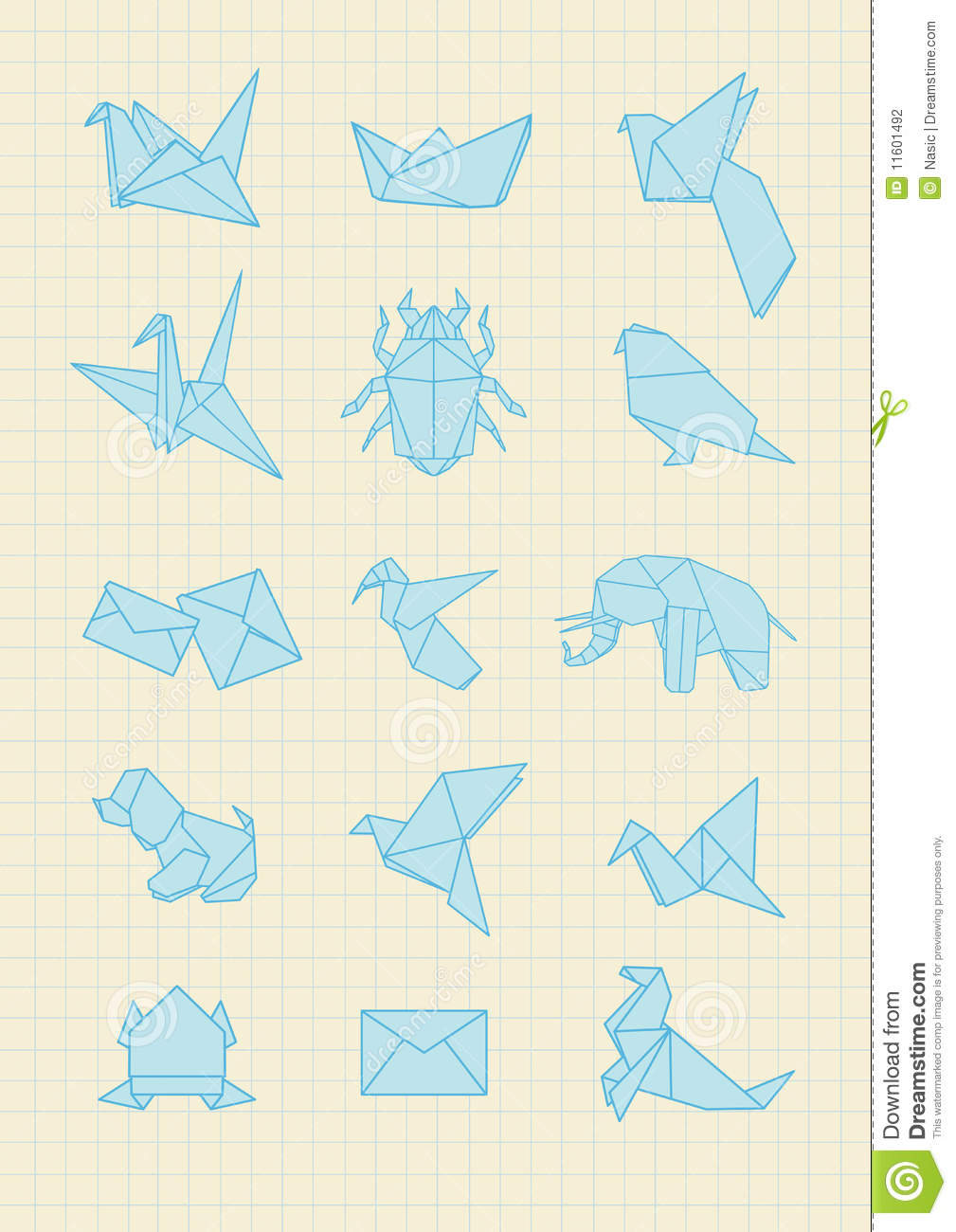 origami stock photography image 11601492