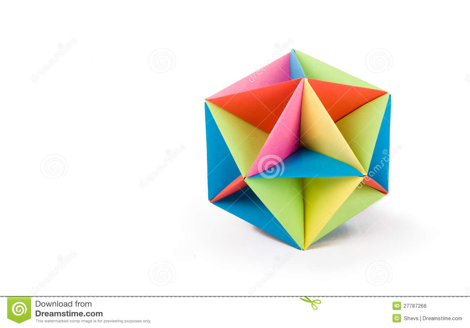Origami Icosahedron - YouTube | 925x1300