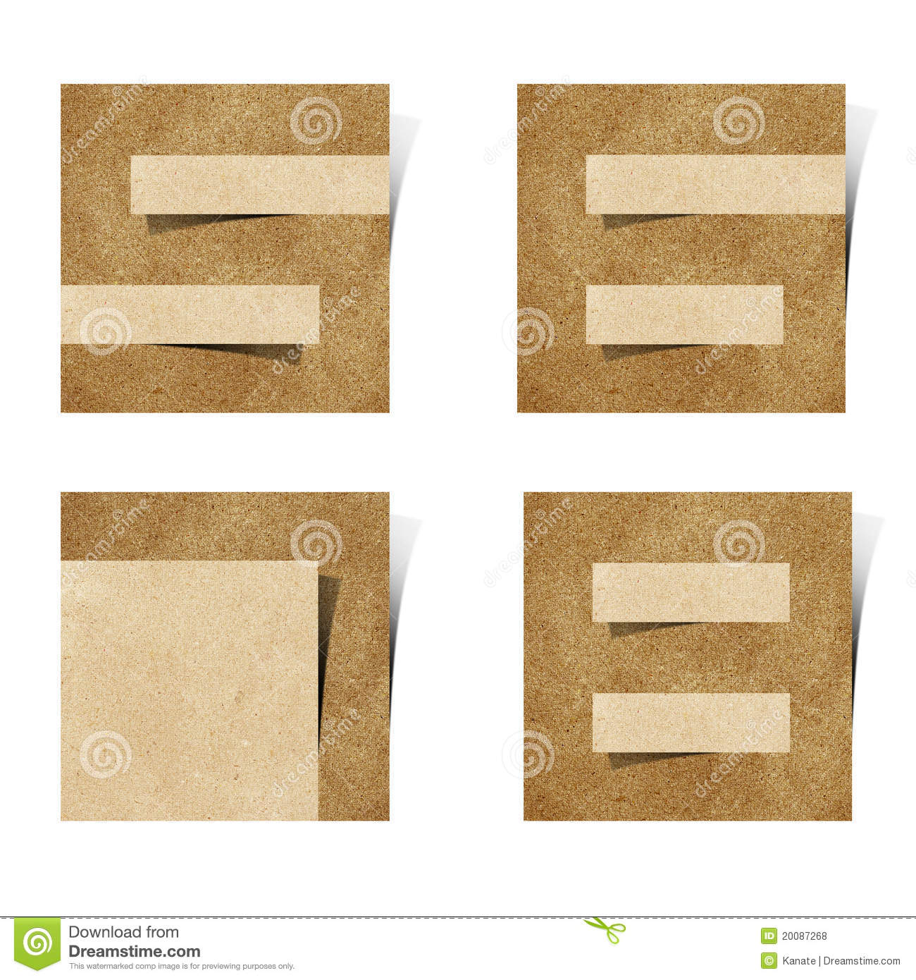 Origami alphabet letters recycled paper royalty free stock for Alphabet letters cardboard