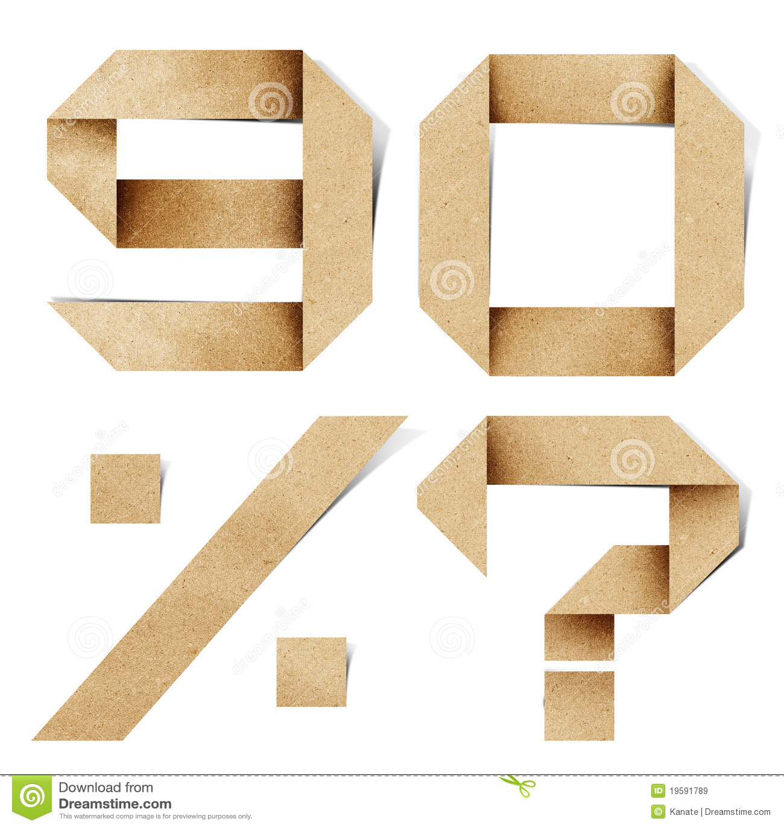 Origami animals free download programhouston for Alphabet letters cardboard