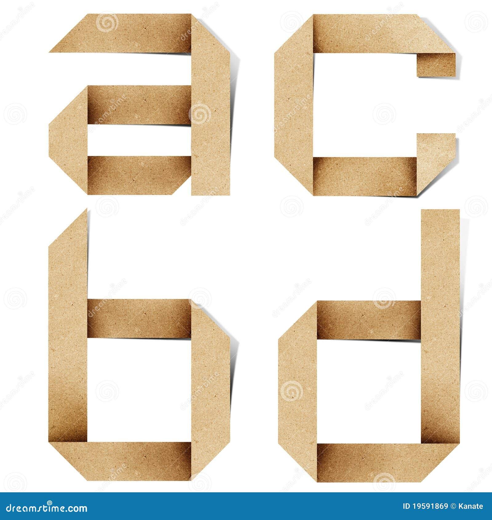 2014 april page 66 for Alphabet letters cardboard
