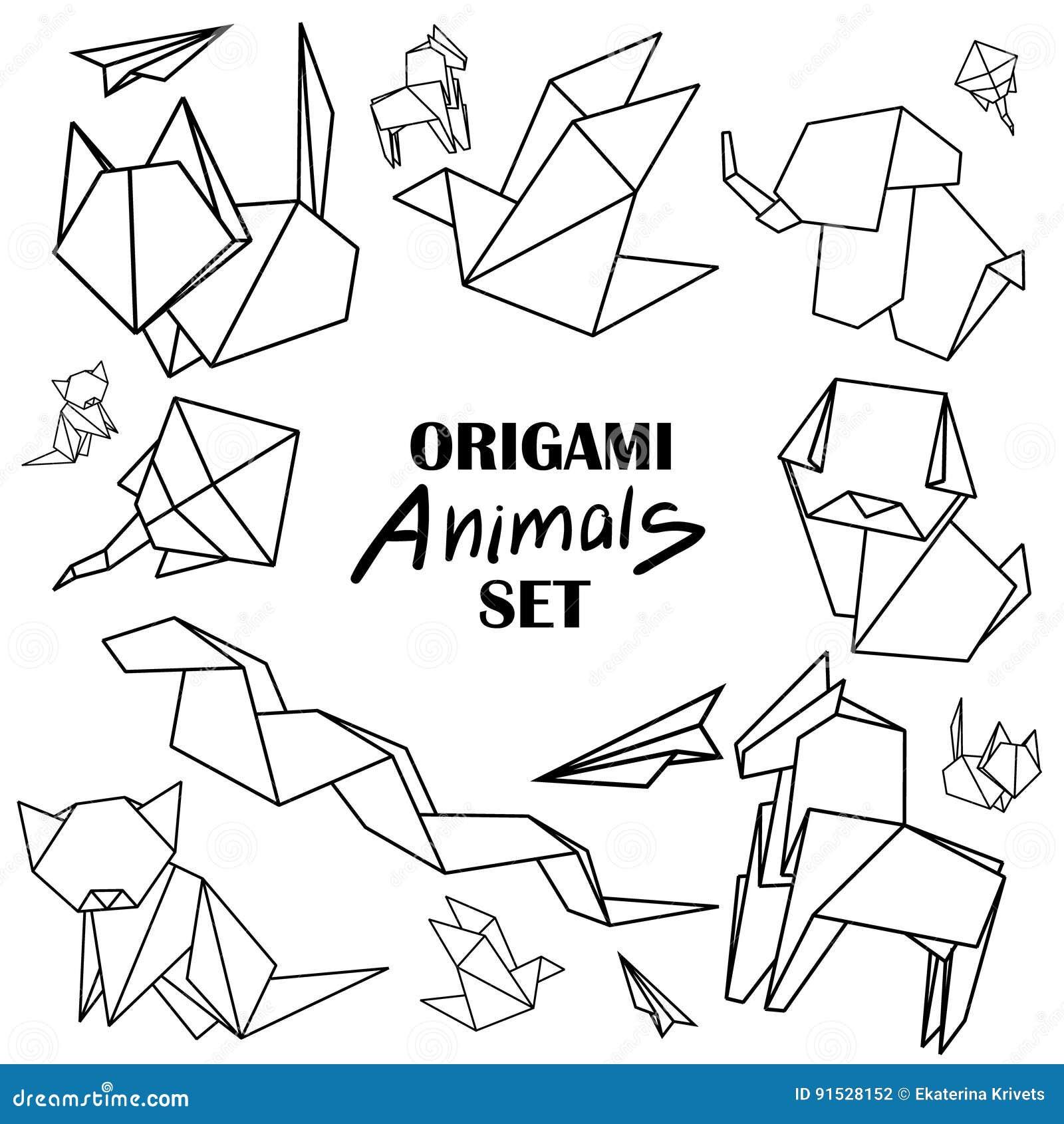 Origami Horse Stock Illustrations 512 Vectors Clipart
