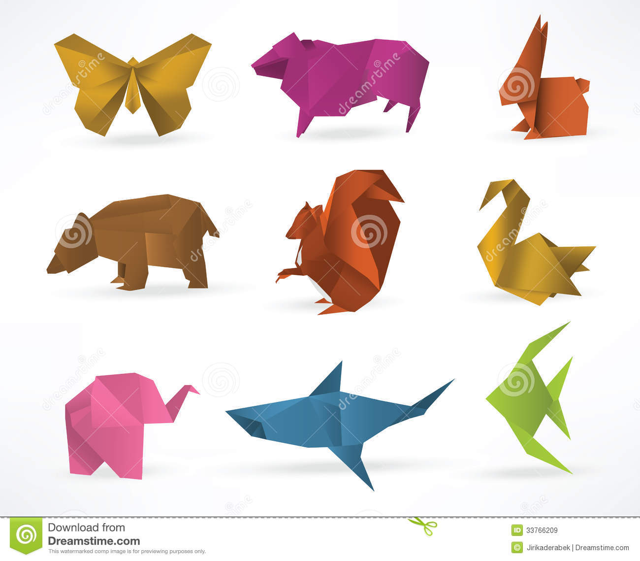 how to make origami animals that move