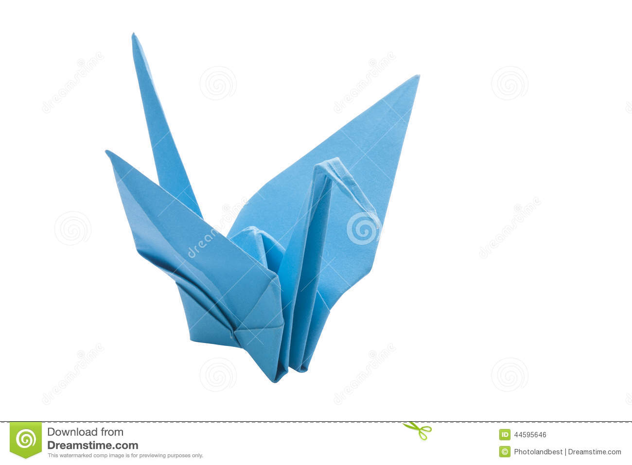Origami blue bird paper stock photo image of game graphic 44595646 origami blue bird paper game graphic jeuxipadfo Images