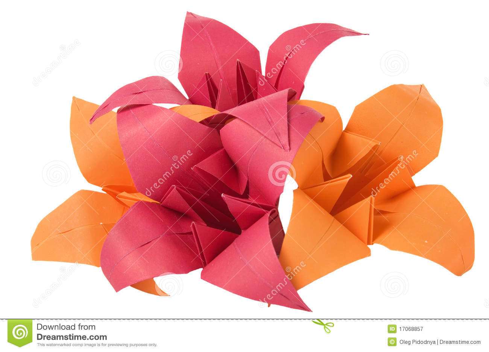 origami blumen lizenzfreie stockfotografie bild 17068857. Black Bedroom Furniture Sets. Home Design Ideas