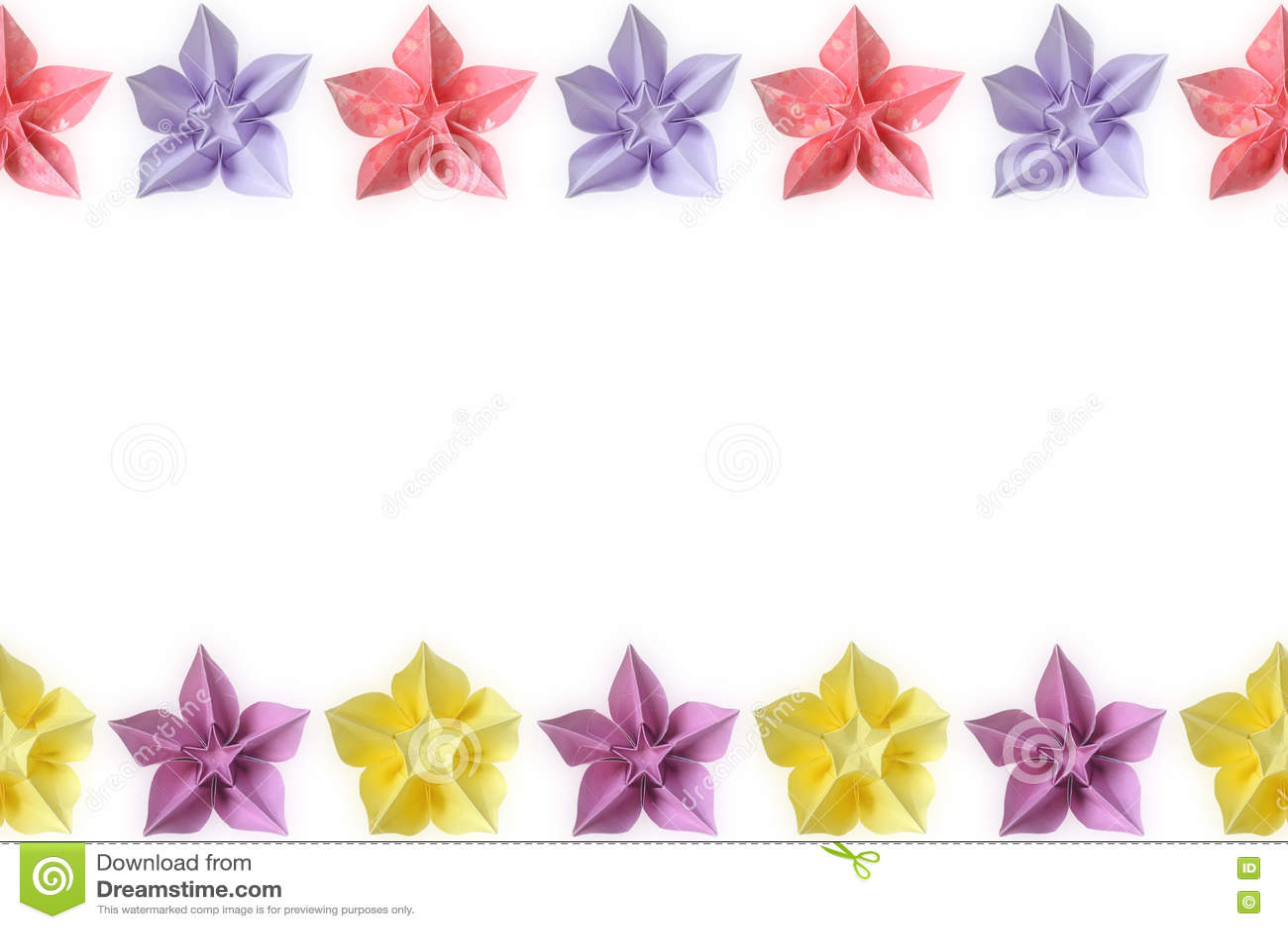 Origami Carambola Flower Stock Image Image Of Shape 72684895