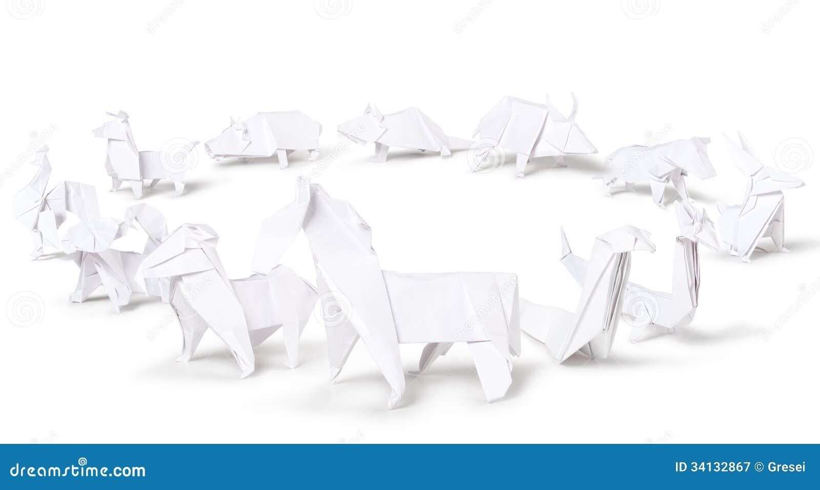 Origami chinese zodiac stock image image of sign horse 34132867 origami chinese zodiac jeuxipadfo Gallery