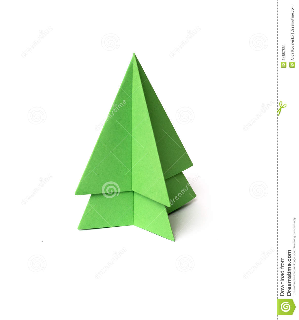 Christmas Tree Oragami