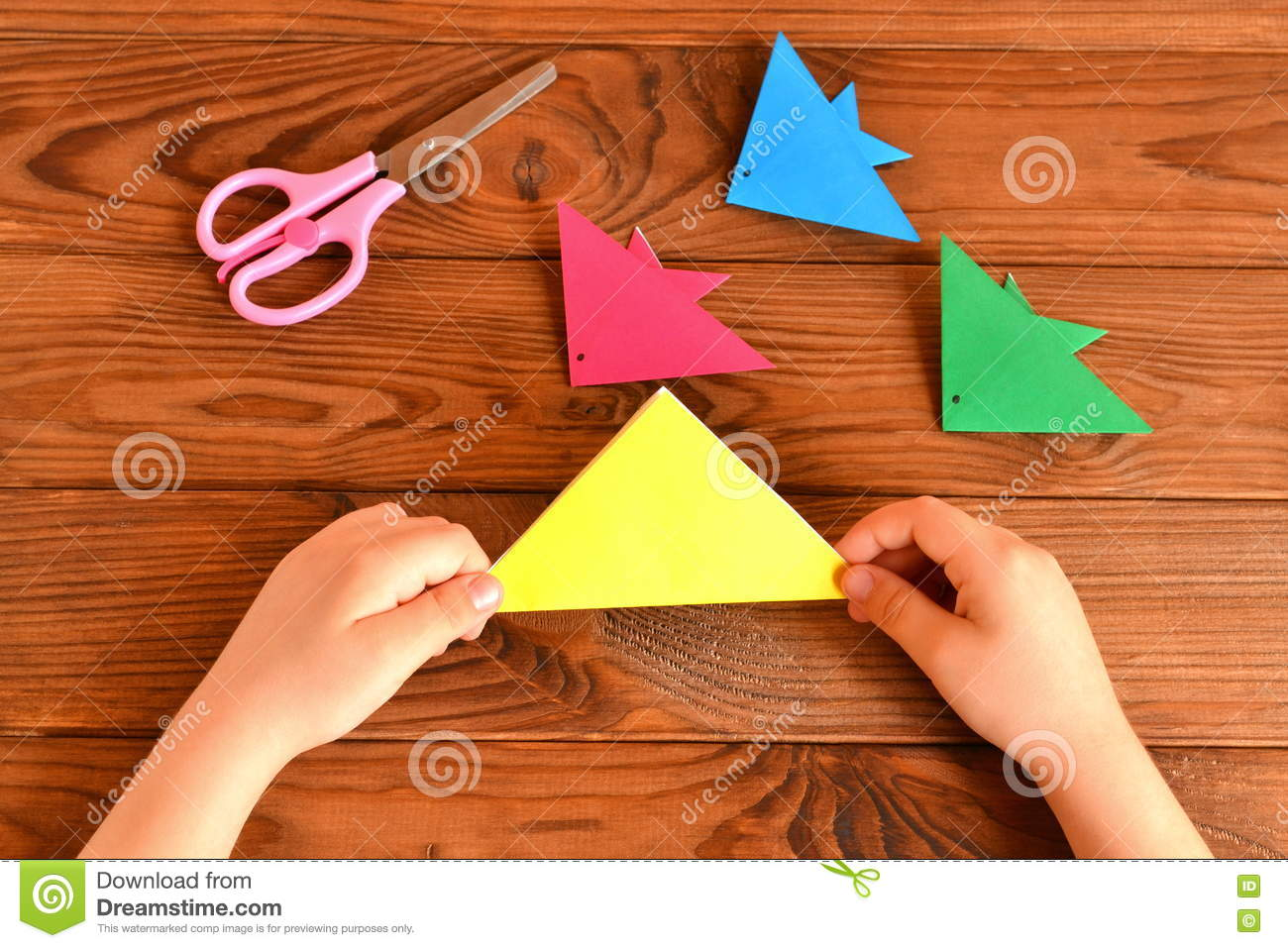 origami fish easy for kids-How to make Easy paper Fish origami ... | 957x1300