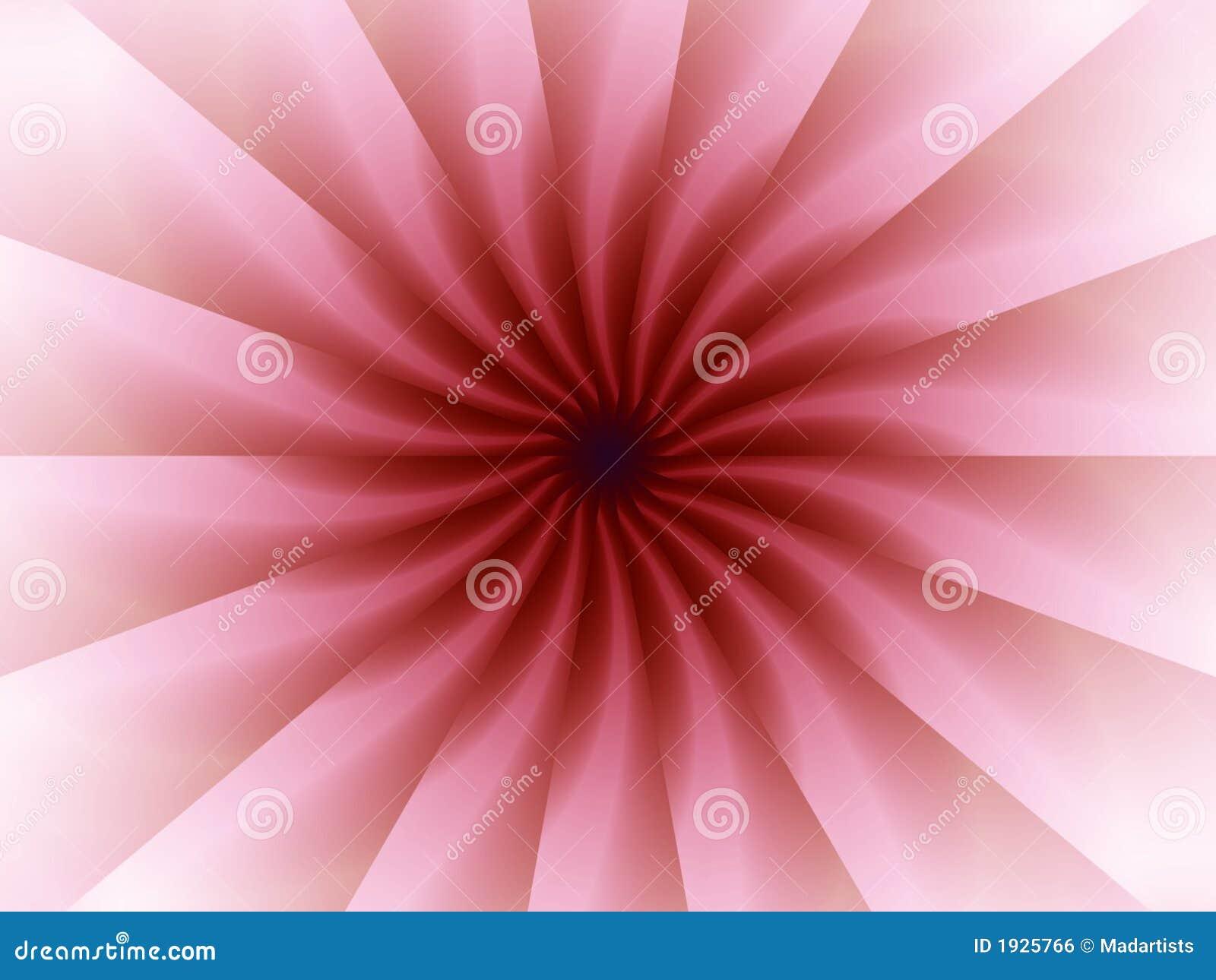 Origami cor-de-rosa dobra o teste padrão