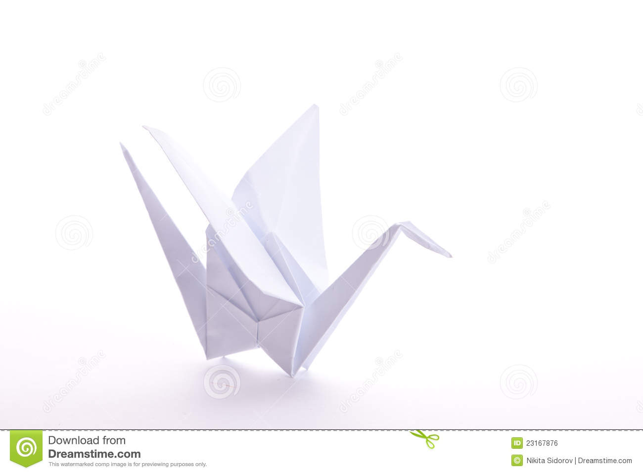 Origami Crane - How to Make the Paper Crane - Only Folding - YouTube | 957x1300