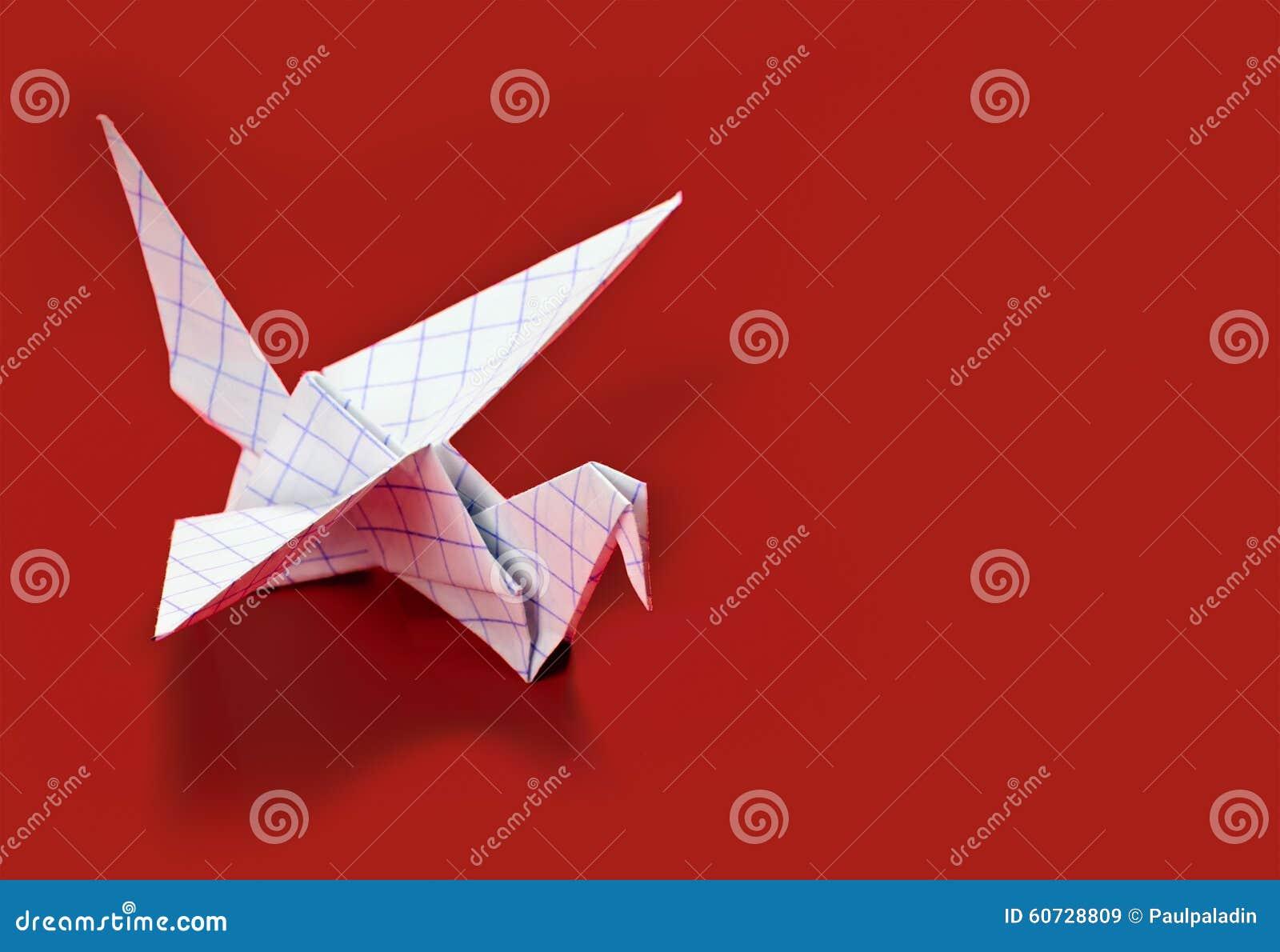 Origami Crane Symbol Of Peace