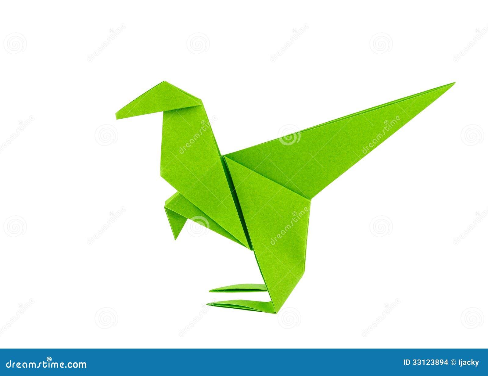 Origami Dinosaur - Raptor - Stock Images - Image: 33123894 - photo#47
