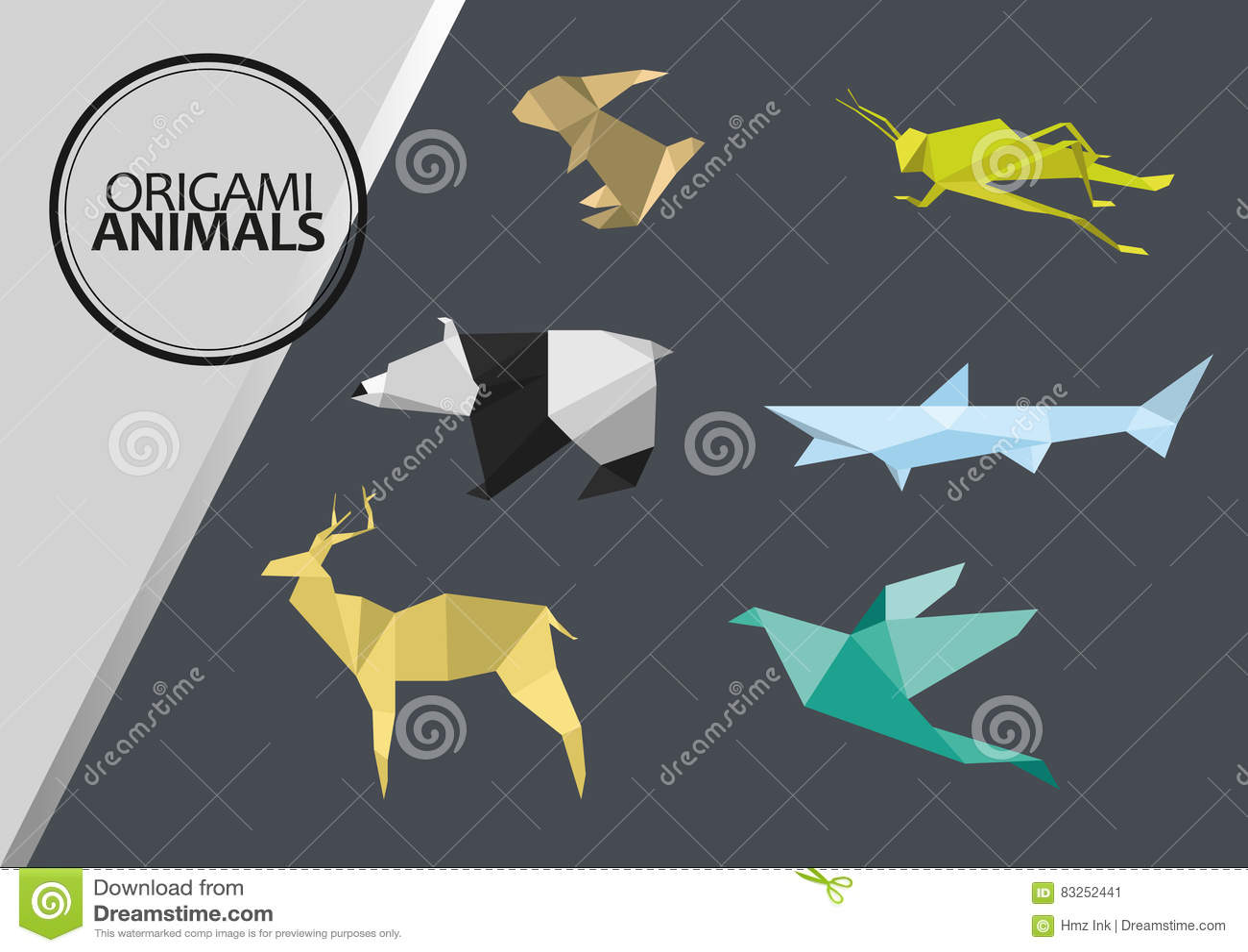 Origami djur