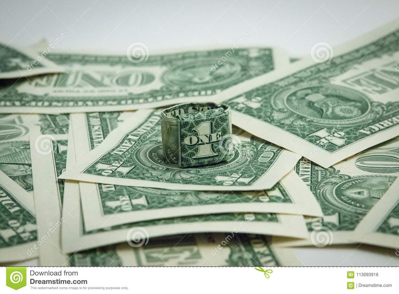 Origami Money Dollar Bill Ring - Best Step by Step Instructions | 957x1300