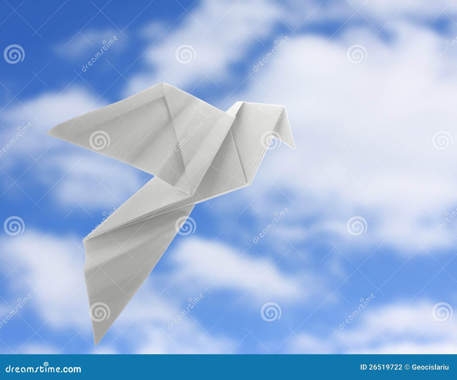 Origami Dove Stock Photography - Image: 26519722 - photo#30