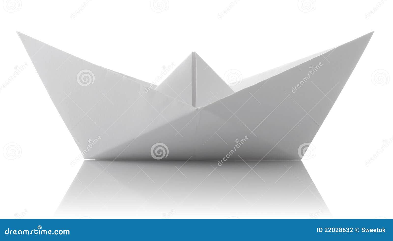origami du bateau de papier photographie stock image 22028632. Black Bedroom Furniture Sets. Home Design Ideas