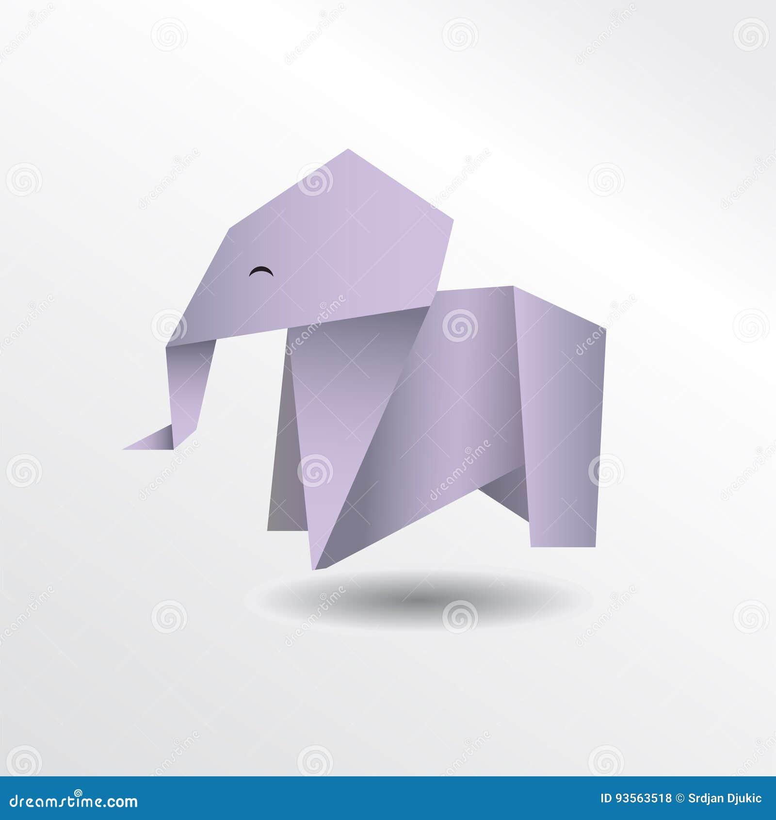 origami elefant my blog. Black Bedroom Furniture Sets. Home Design Ideas