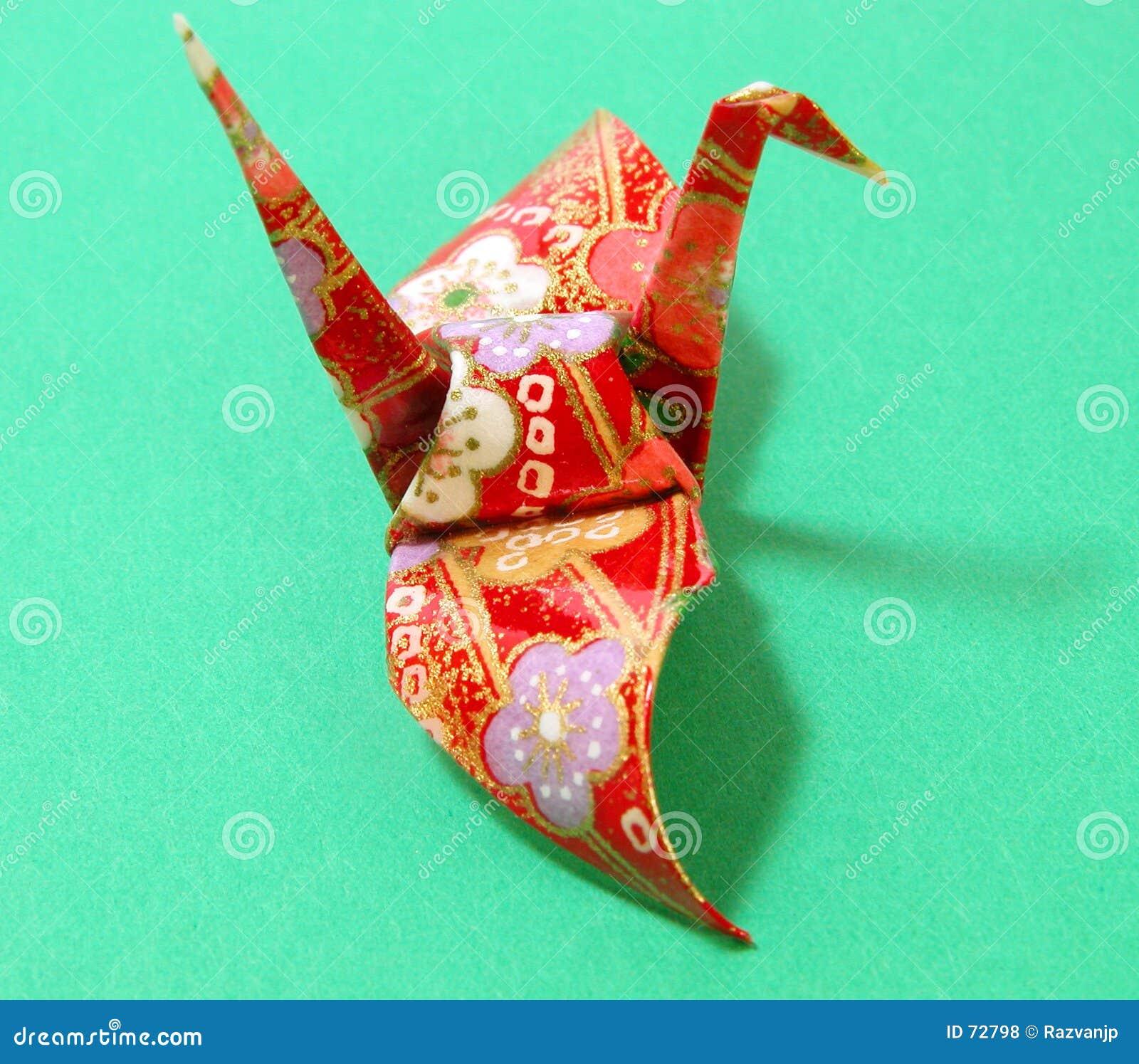 Origami en schaduw