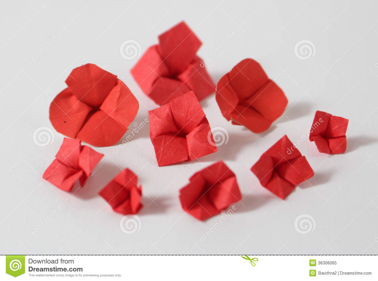 Origami Flowers Royalty Free Stock Photo Image 36306065