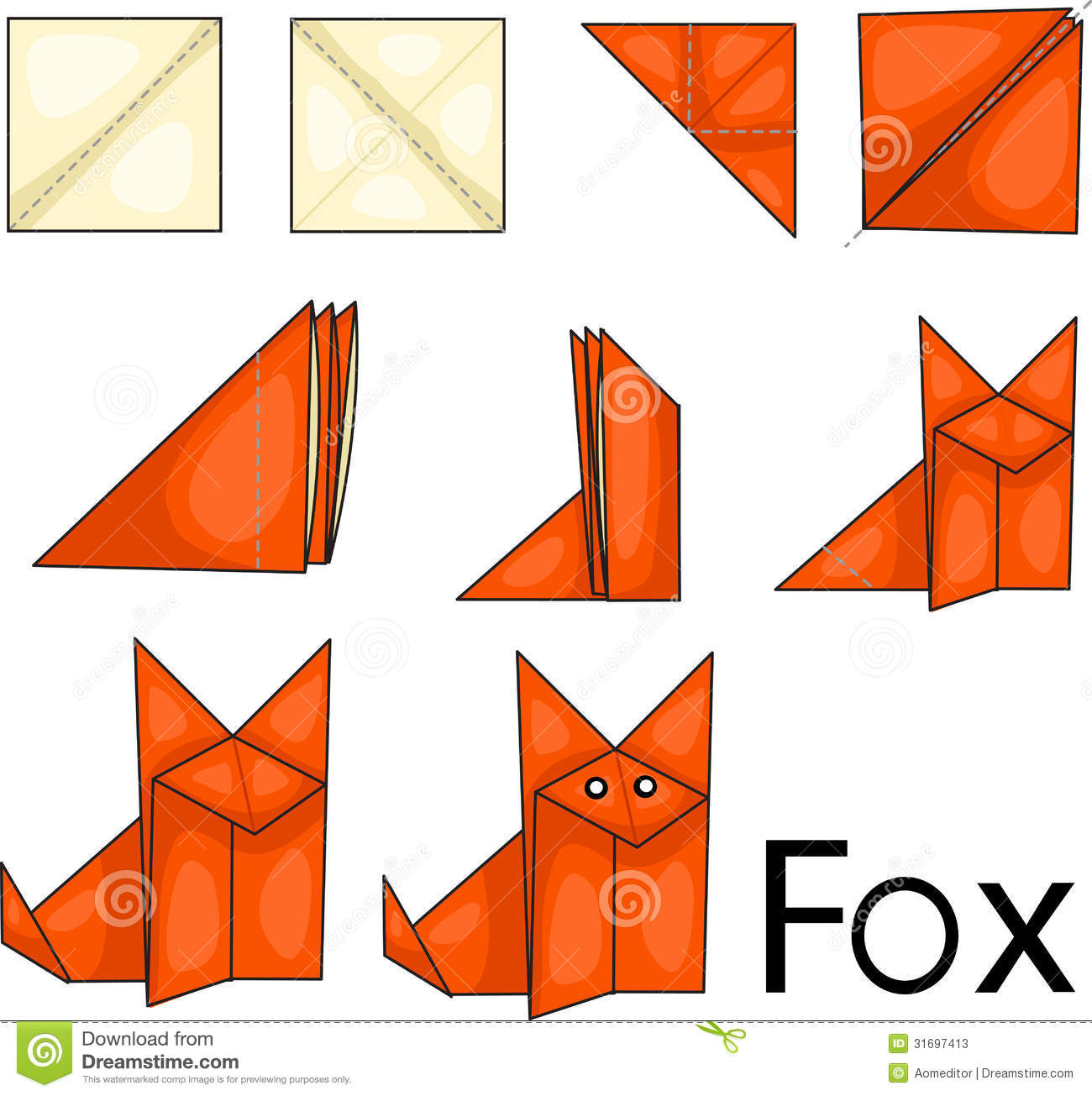 Origami Step By Step Rabbit
