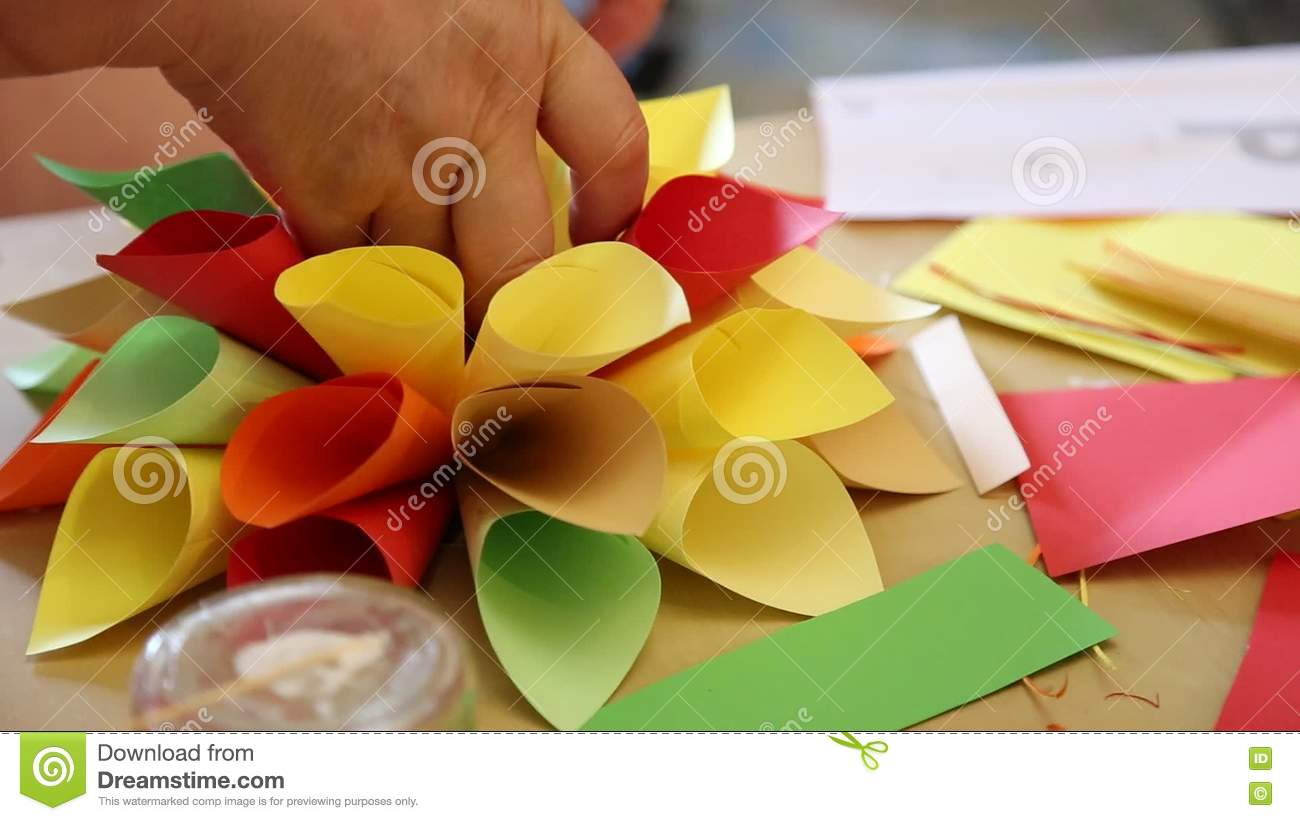 Origami handmade stock video image of craft decoration 76899087 mightylinksfo
