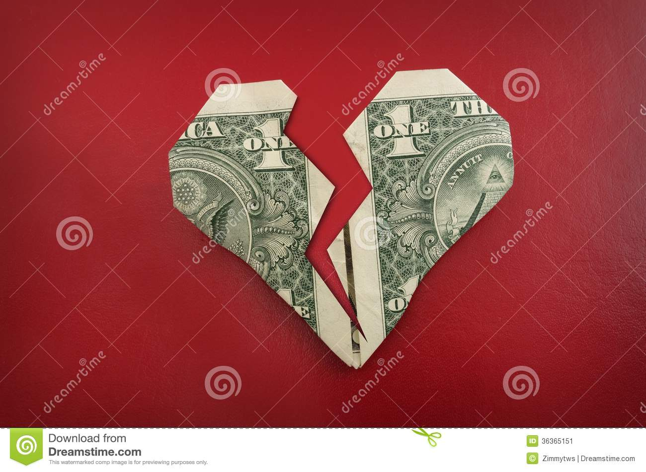 How to Fold a Dollar Bill Into an Origami Heart | HGTV | 951x1300