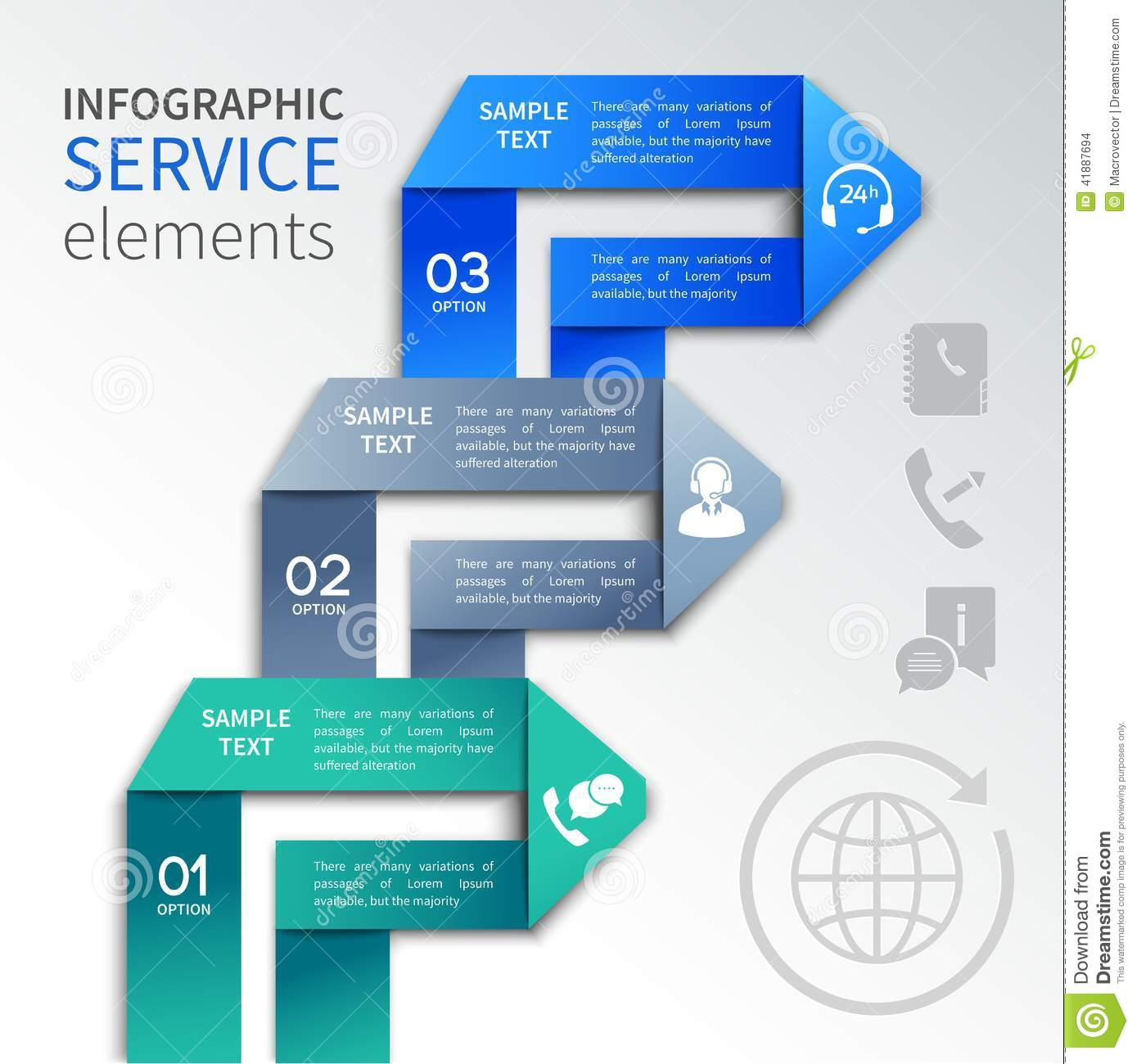 Infographics free templates social services