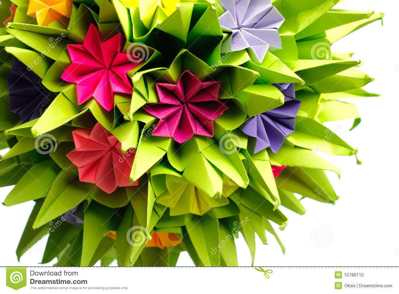 How to Make a Kusudama Ball: 12 Steps (with Pictures) - wikiHow | 960x1300