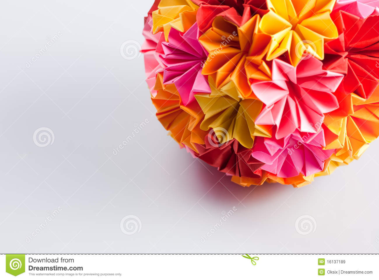 Origami kusudama flower stock image image of rainbow 16137189 download origami kusudama flower stock image image of rainbow 16137189 mightylinksfo