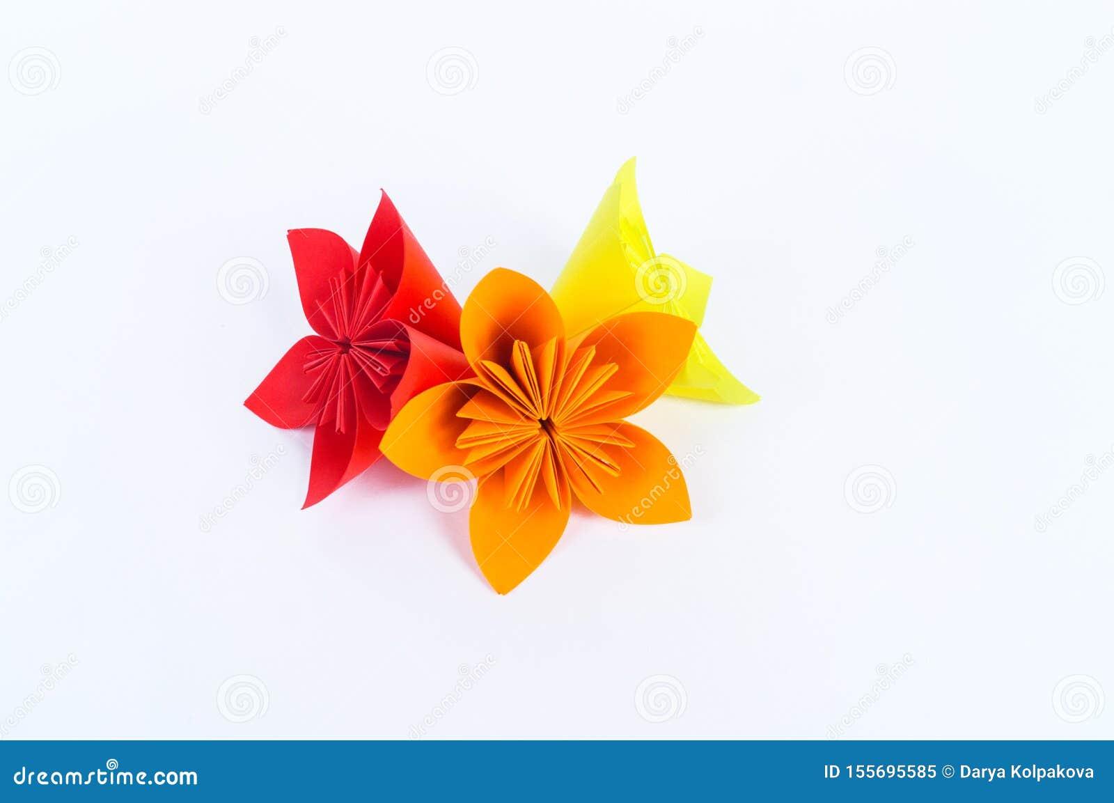 Purple, Silver & White Origami/Kusudama Flower Bouquet/ Flower ... | 1152x1600