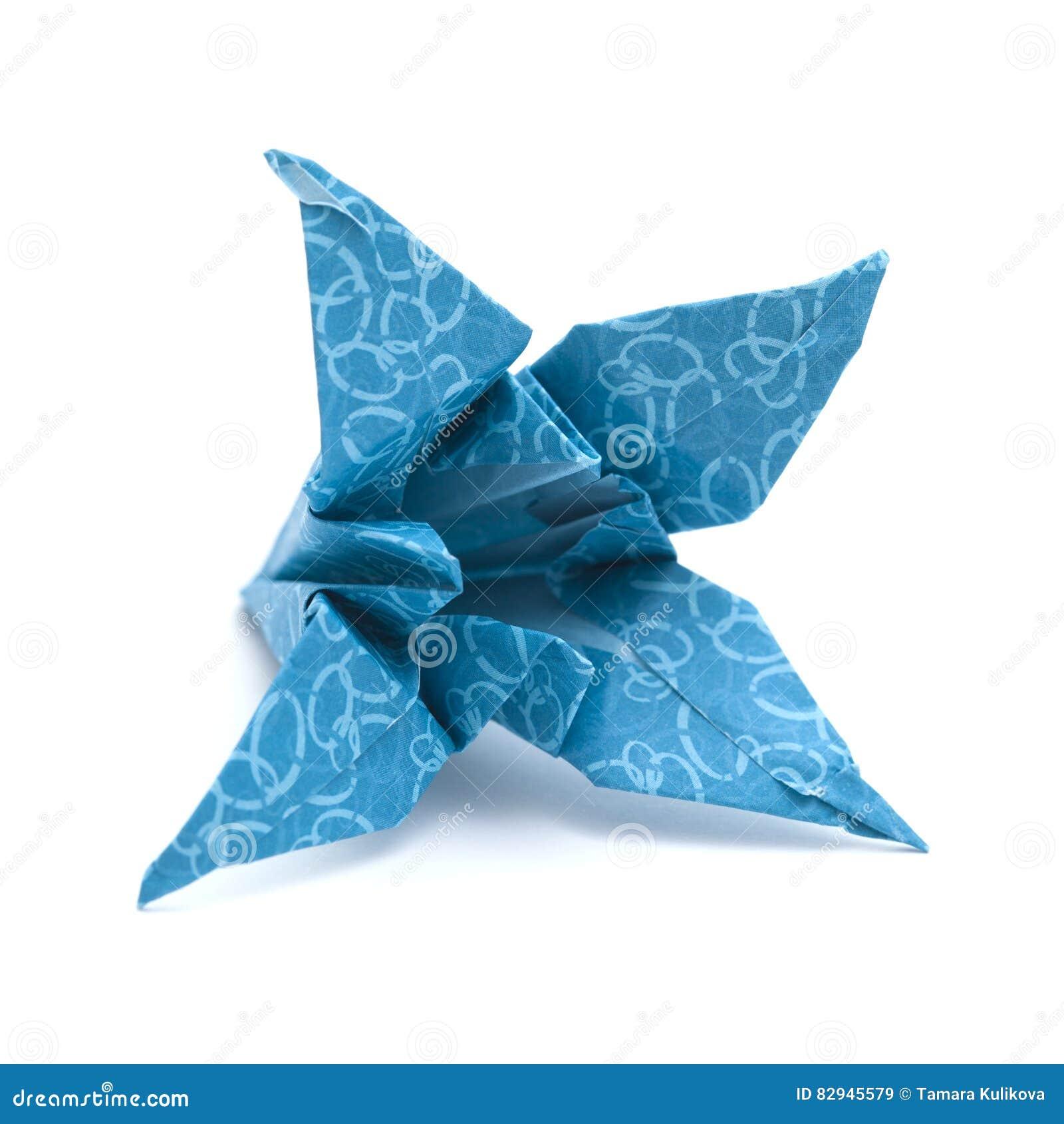 Origami Lily flower | 1390x1300