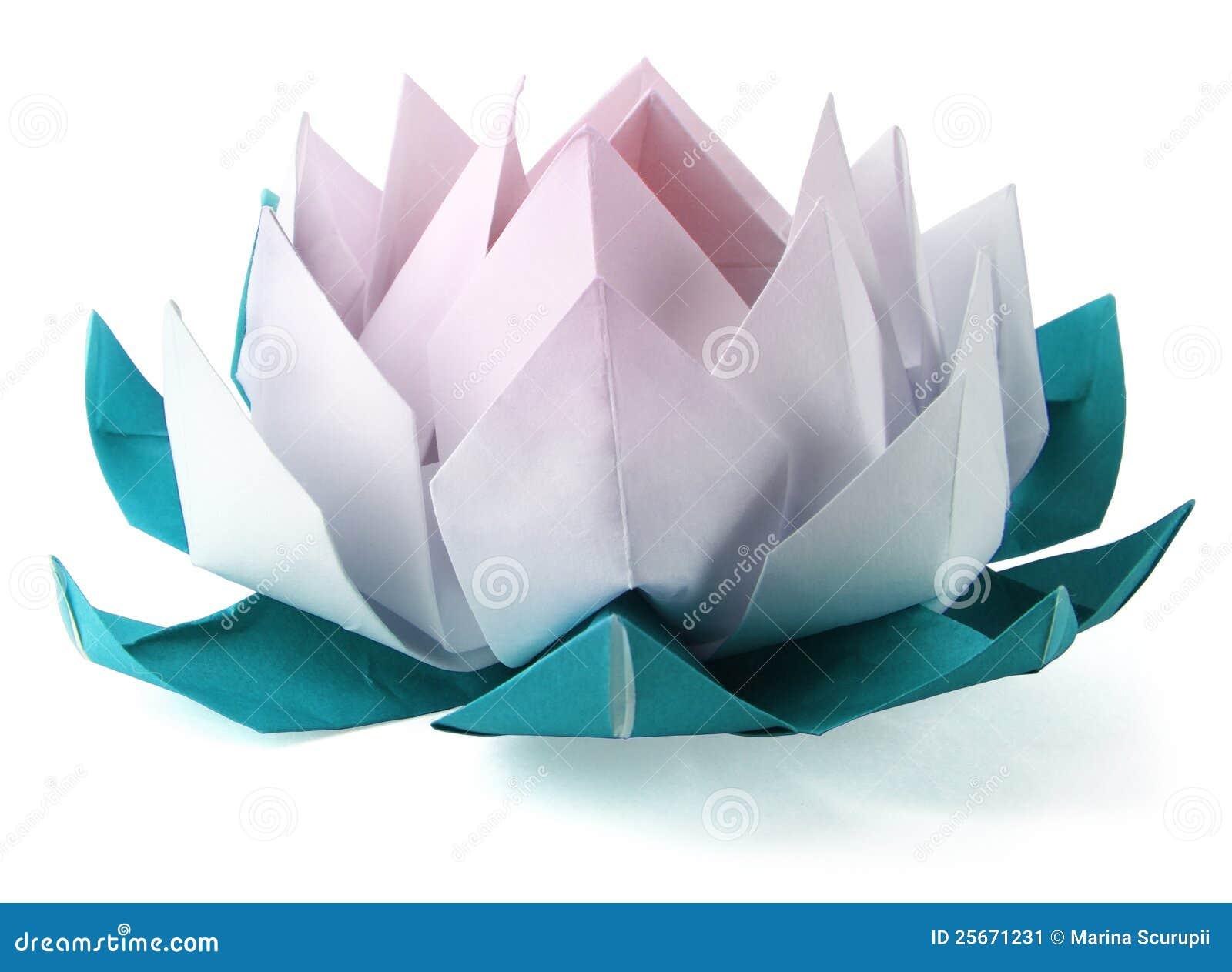 Origami Lotus Stock Image   Image  25671231 e0hUhuyn