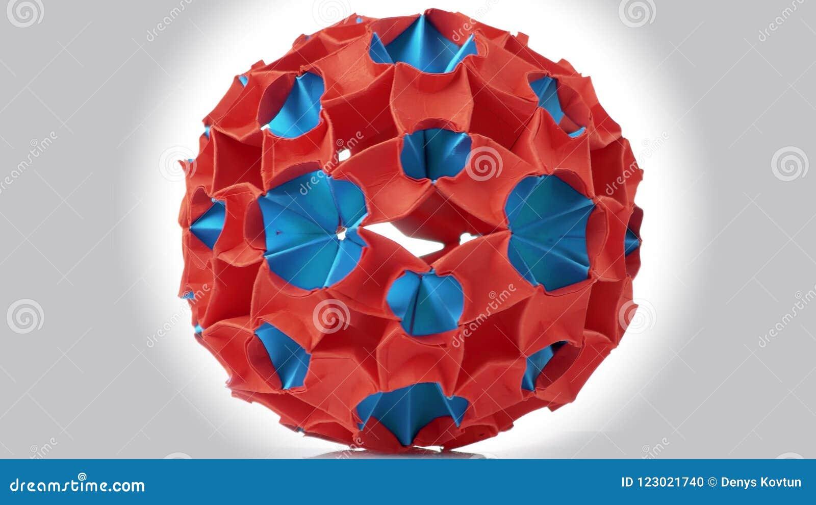 Origami: Mini Magic Ball - YouTube | 450x800
