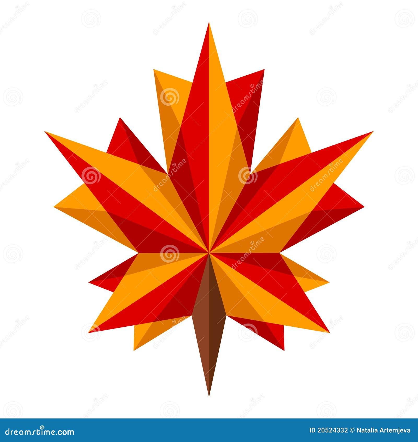 Origami Maple Leaf Stock Photography - Image: 20524332 - photo#35