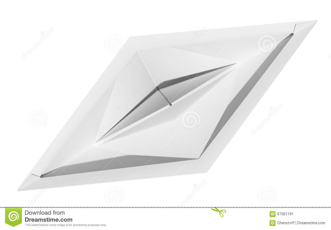 Download Origami Paper Boat Stock Illustration Of