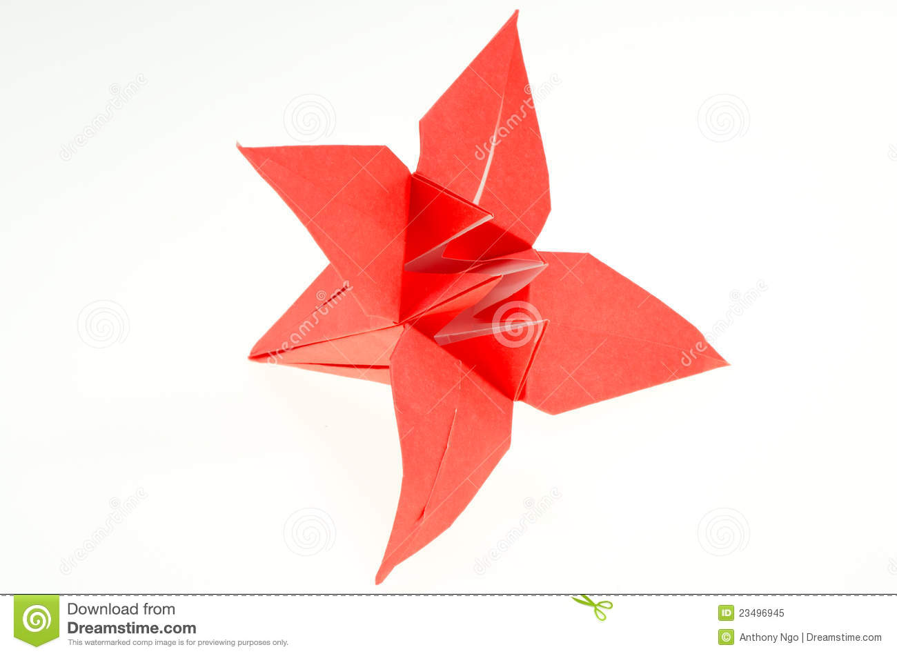 Origami Paper Folding Lily Royalty Free Stock Photo ... - photo#14