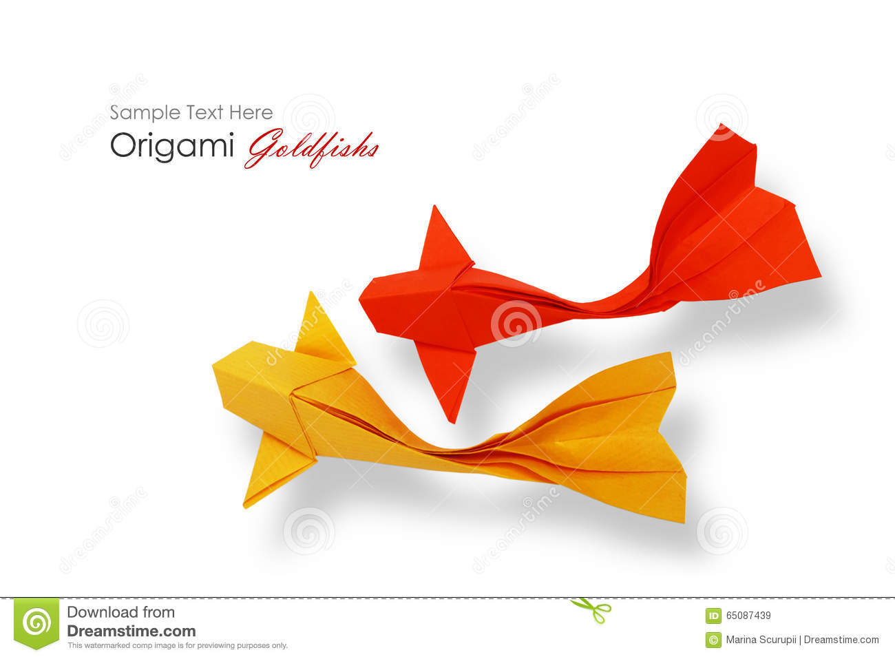 Origami Koi Fish Pattern