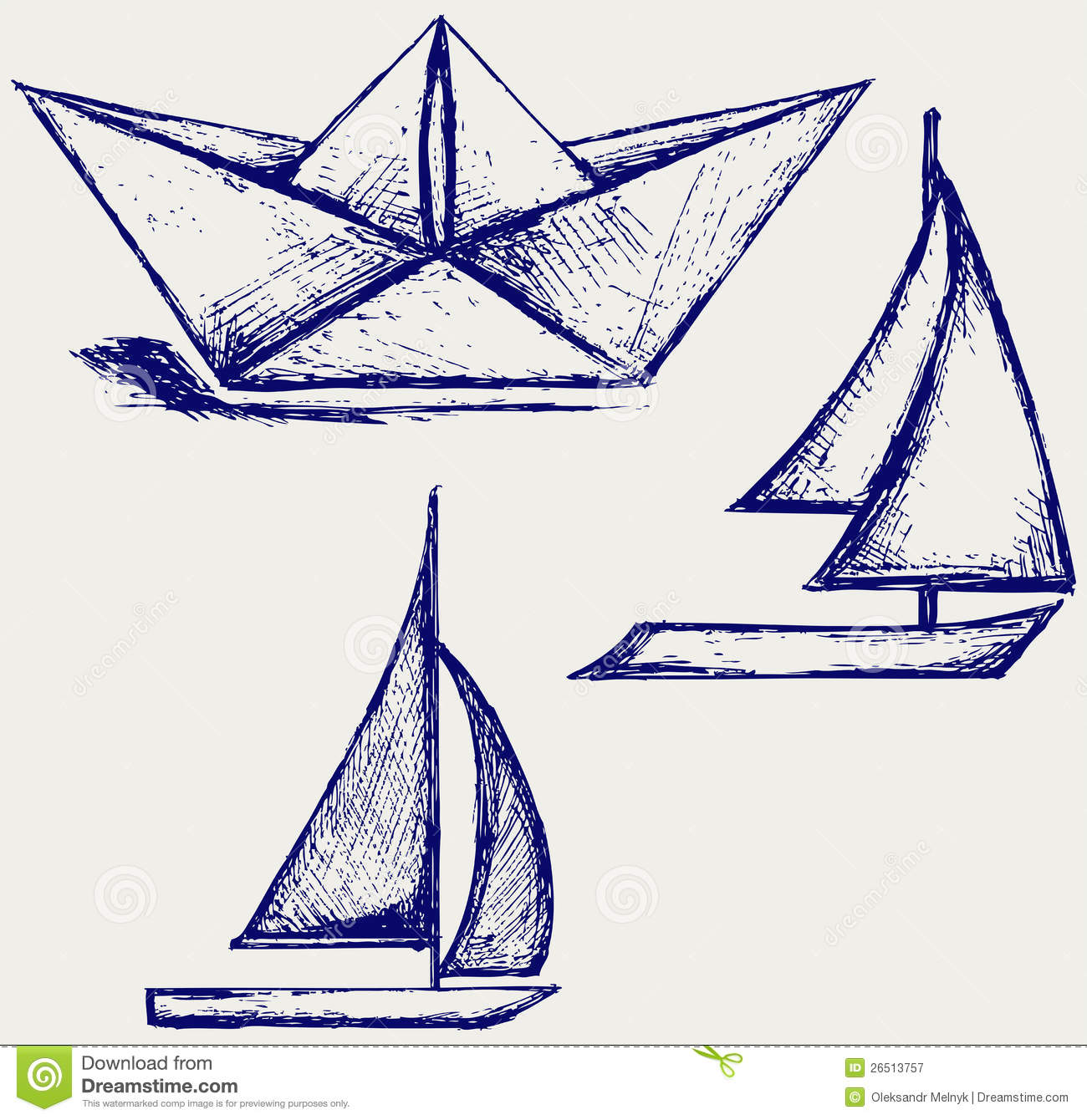 Origami sailboat clip arts clip art  ClipartLogocom