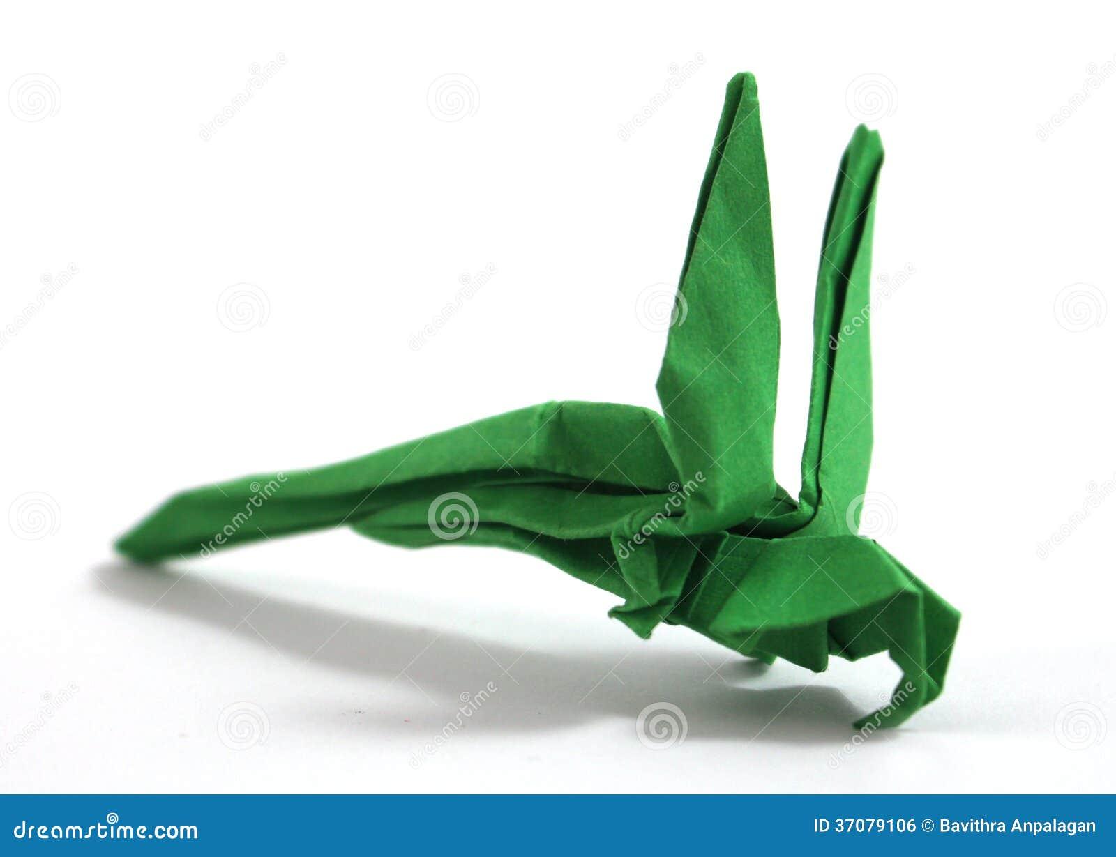 Download Origami papuga ilustracji. Ilustracja złożonej z kreatywnie - 37079106