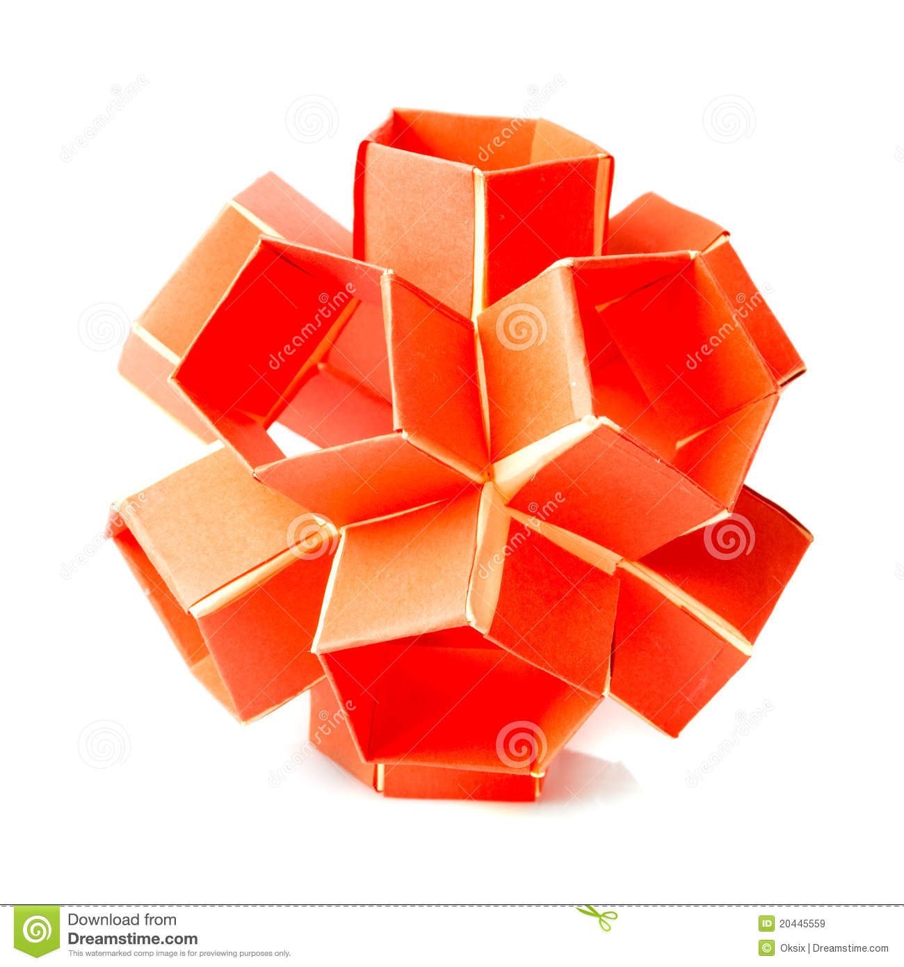 Origami Snapology Royalty Free Stock Images - Image: 20445559 - photo#12