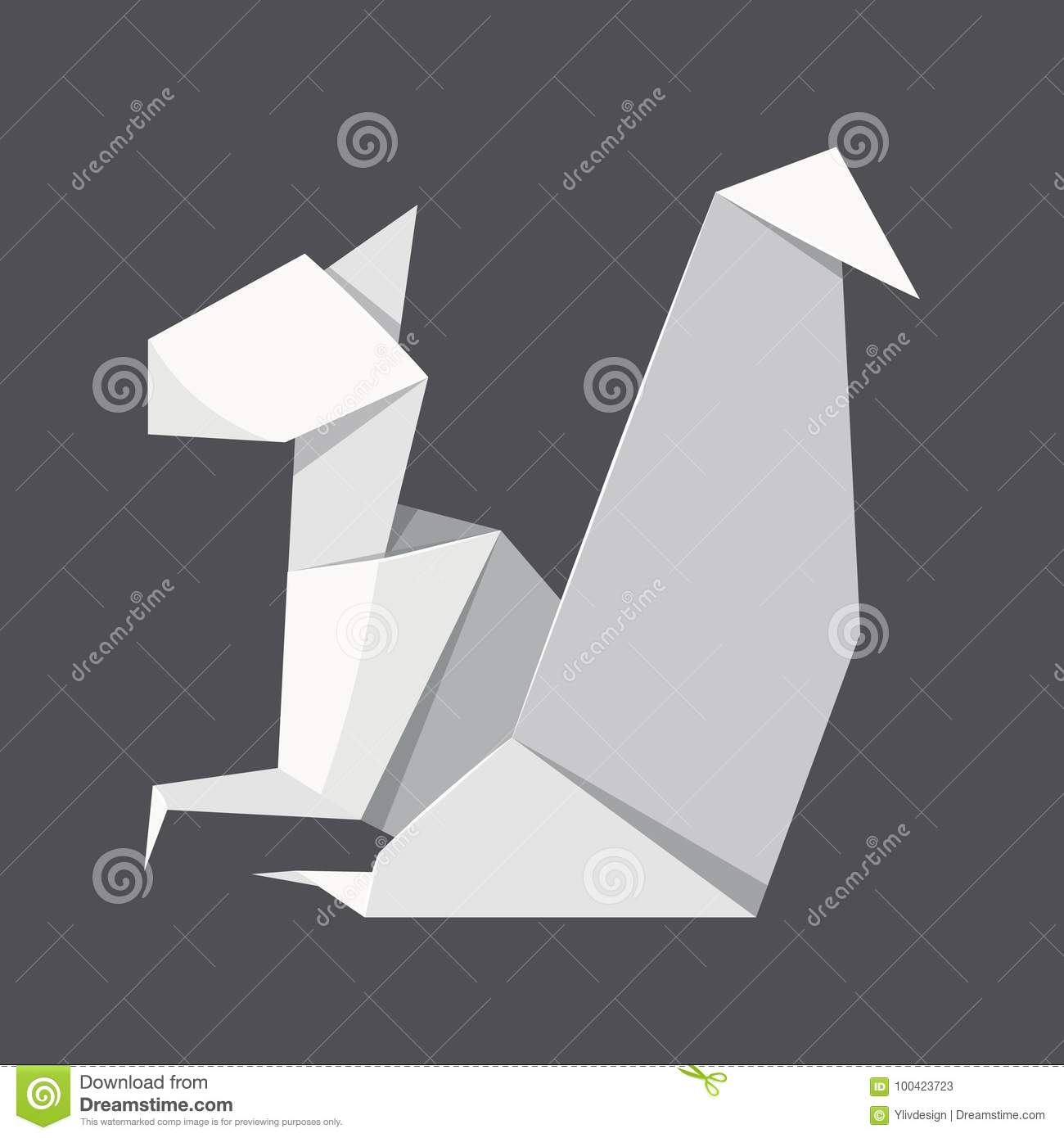 Easy Origami Squirrel Face Instructions You Can Fold Easily   1390x1300