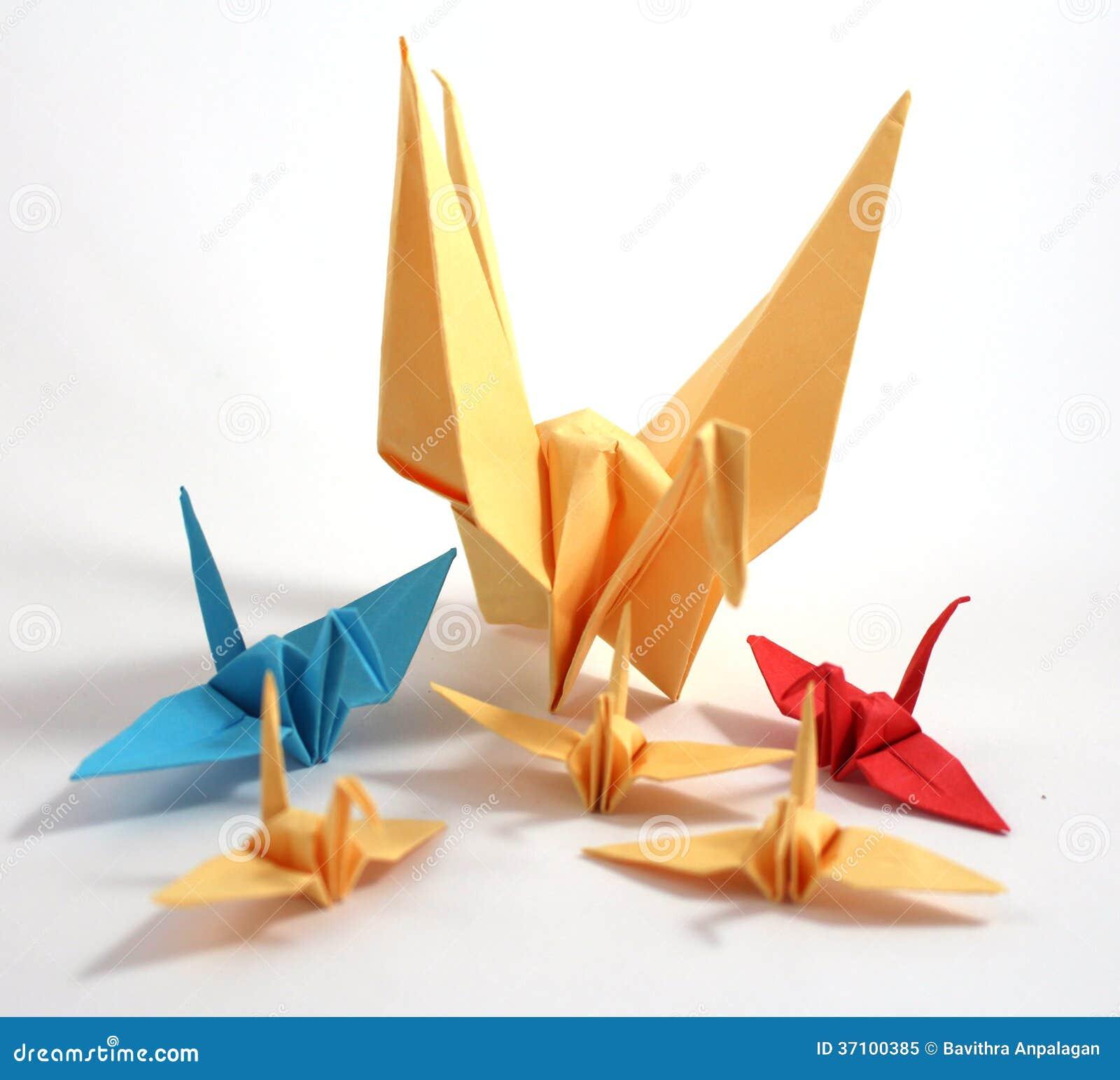 Origami Swan Royalty Free Stock Photo - Image: 37100385 - photo#9