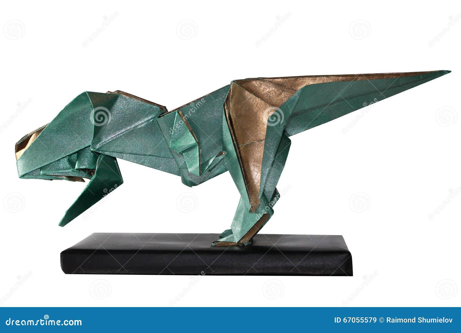 T-Rex origami | Origami facili, Origami e Origami facile | 956x1300