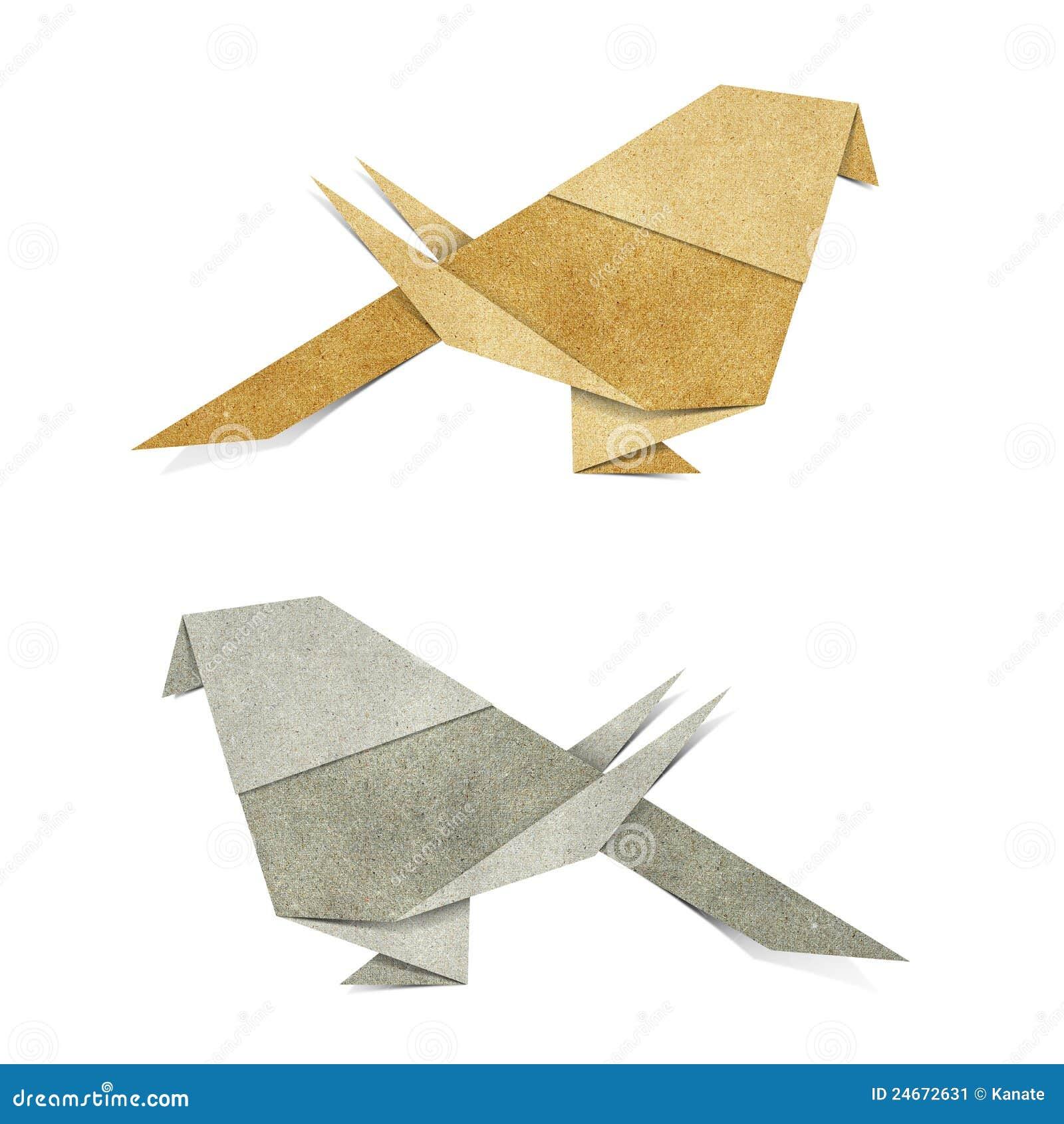 origami vogel bereiten papercraft auf stockbild bild 24672631. Black Bedroom Furniture Sets. Home Design Ideas