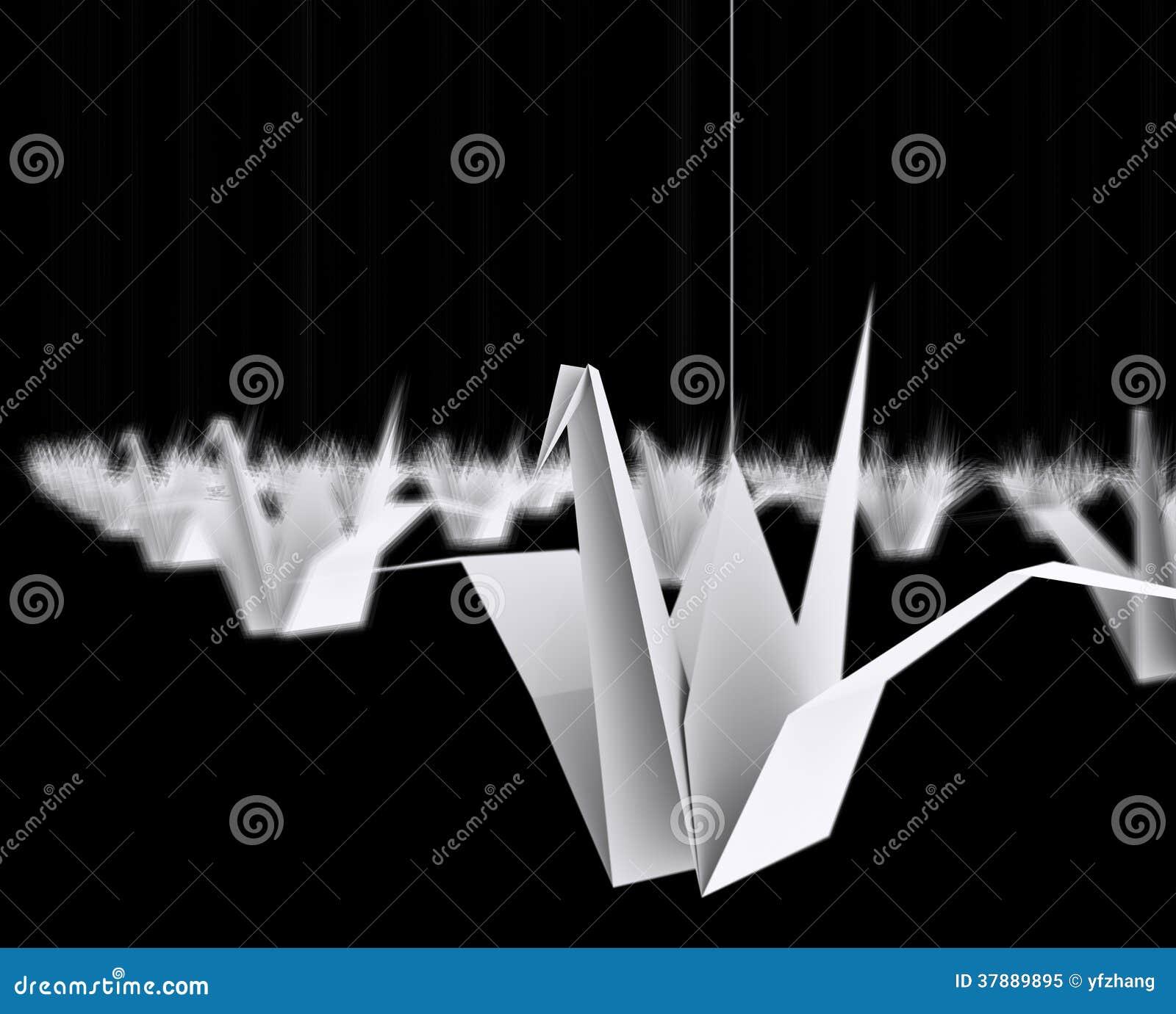 Origamivogel