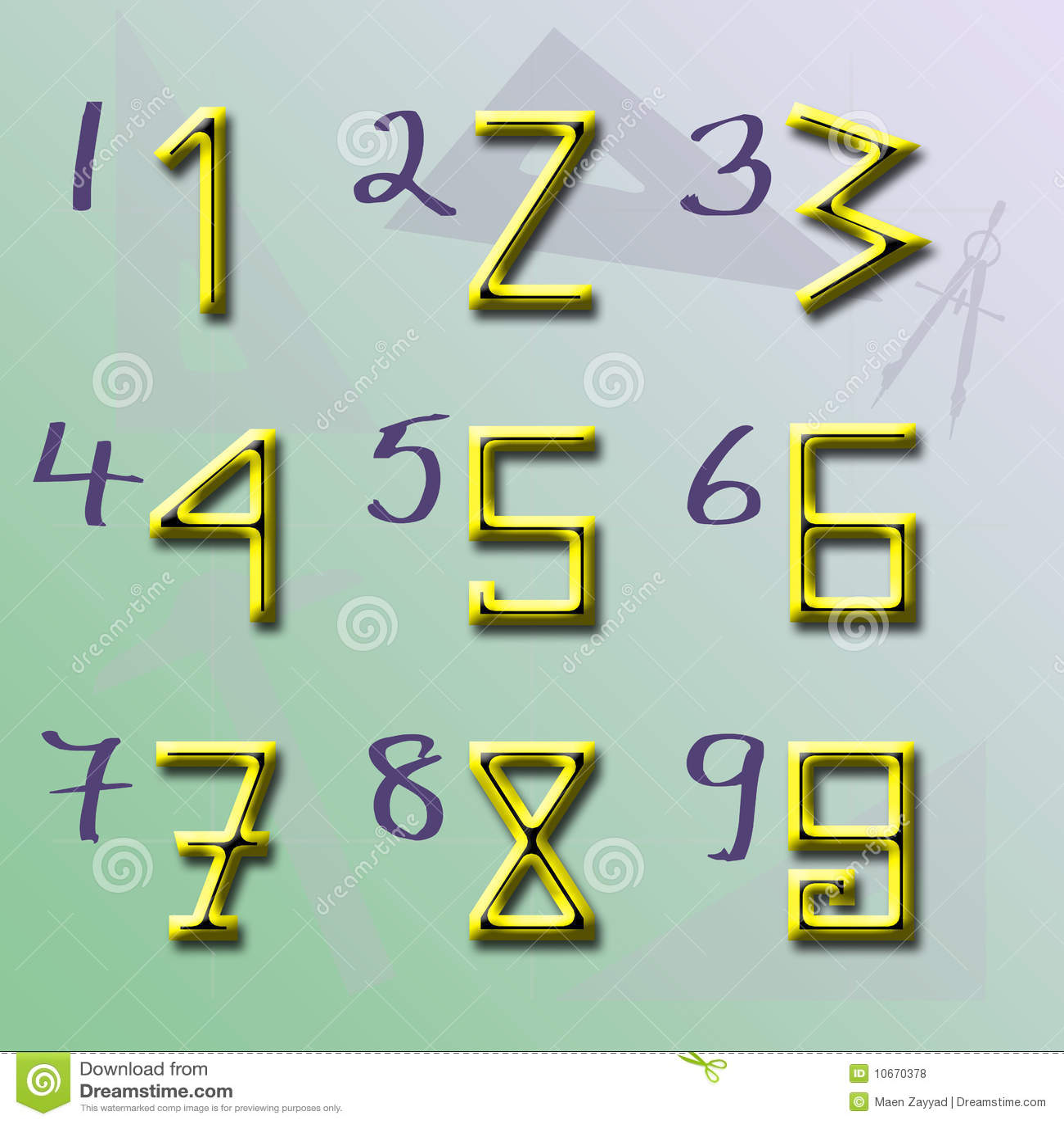 Origin of Numbers shape V2