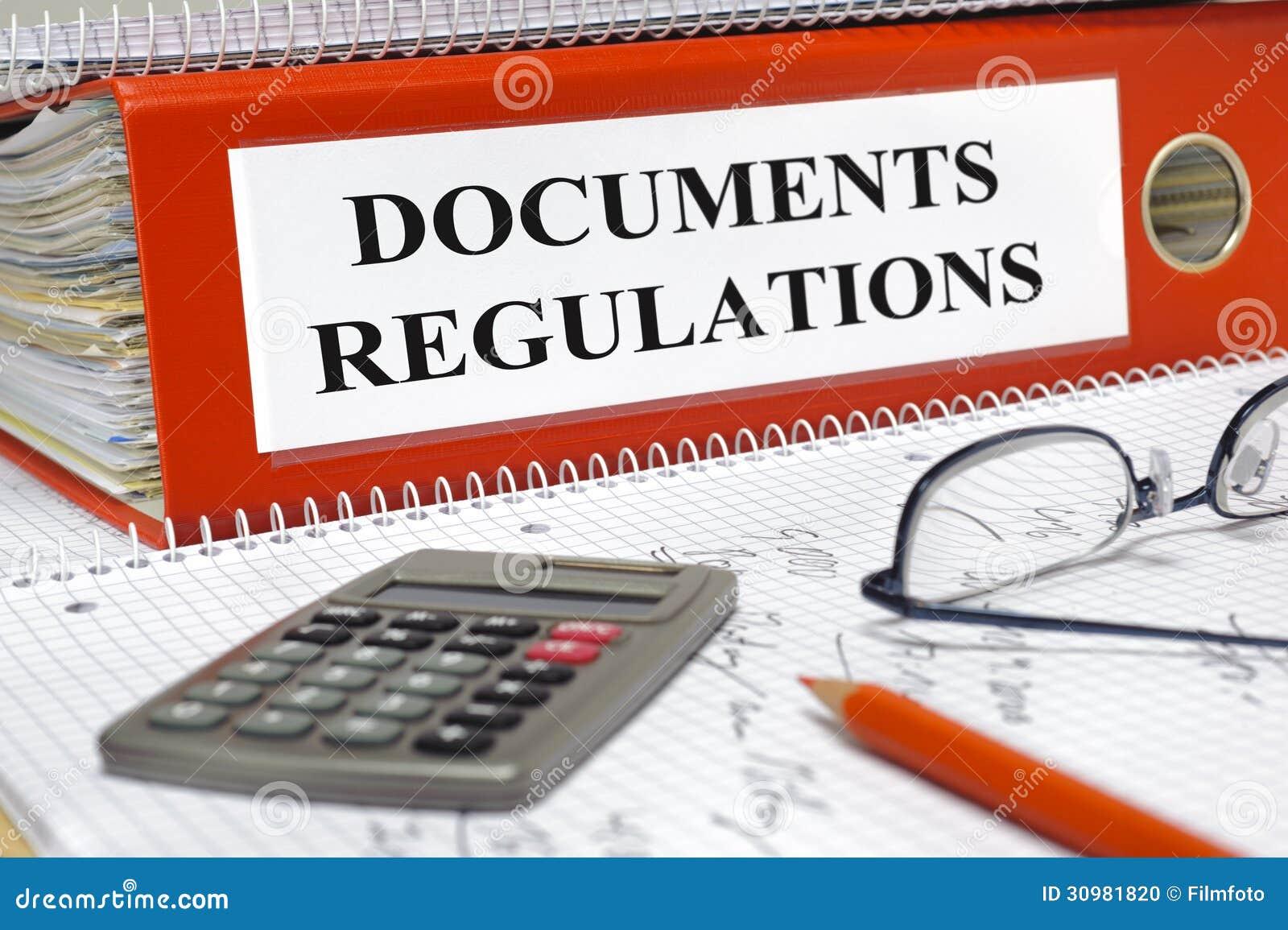 Originais e regulamentos