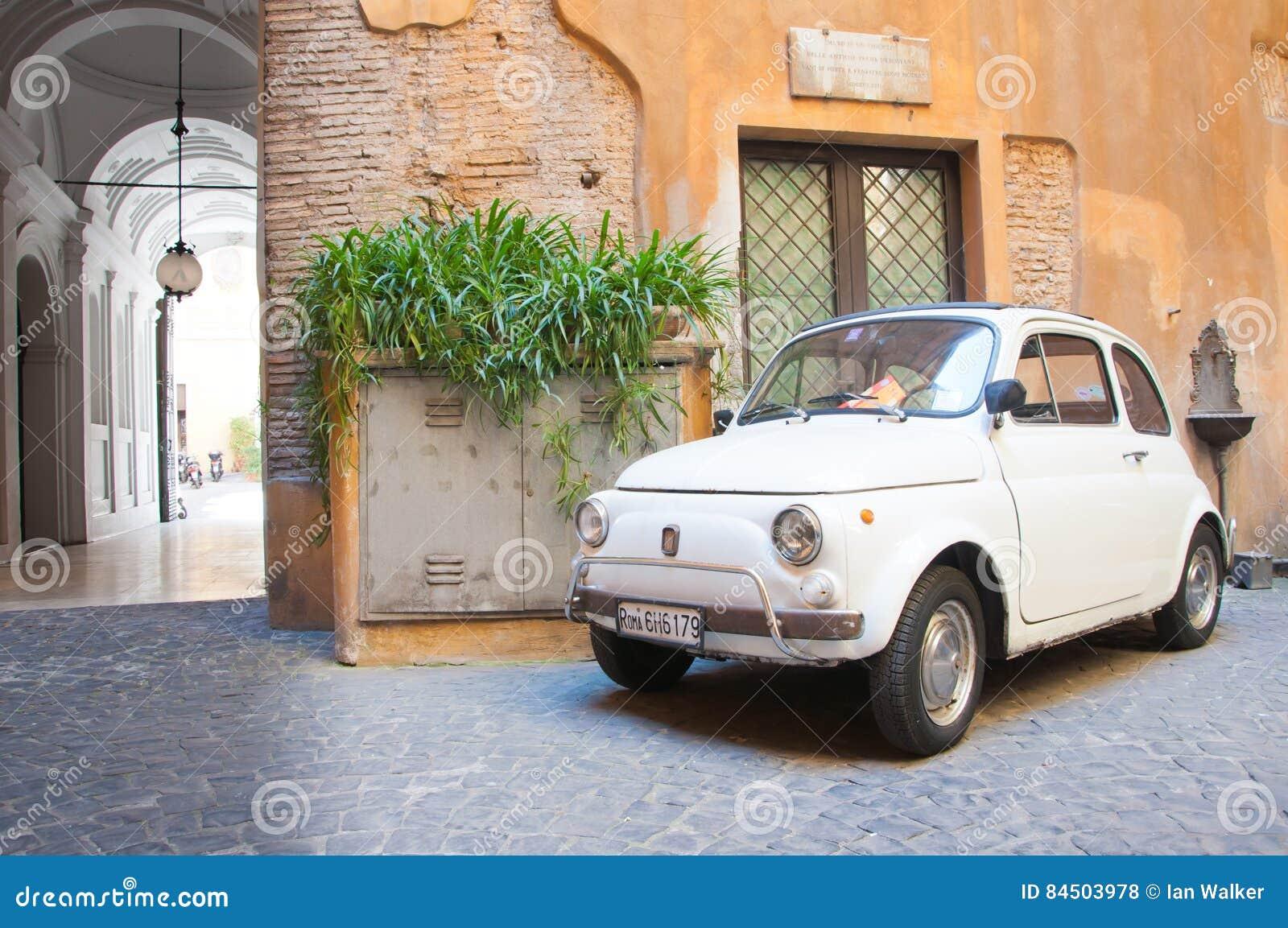 Original Fiat 500 Car Editorial Stock Photo Image Of Italian 84503978